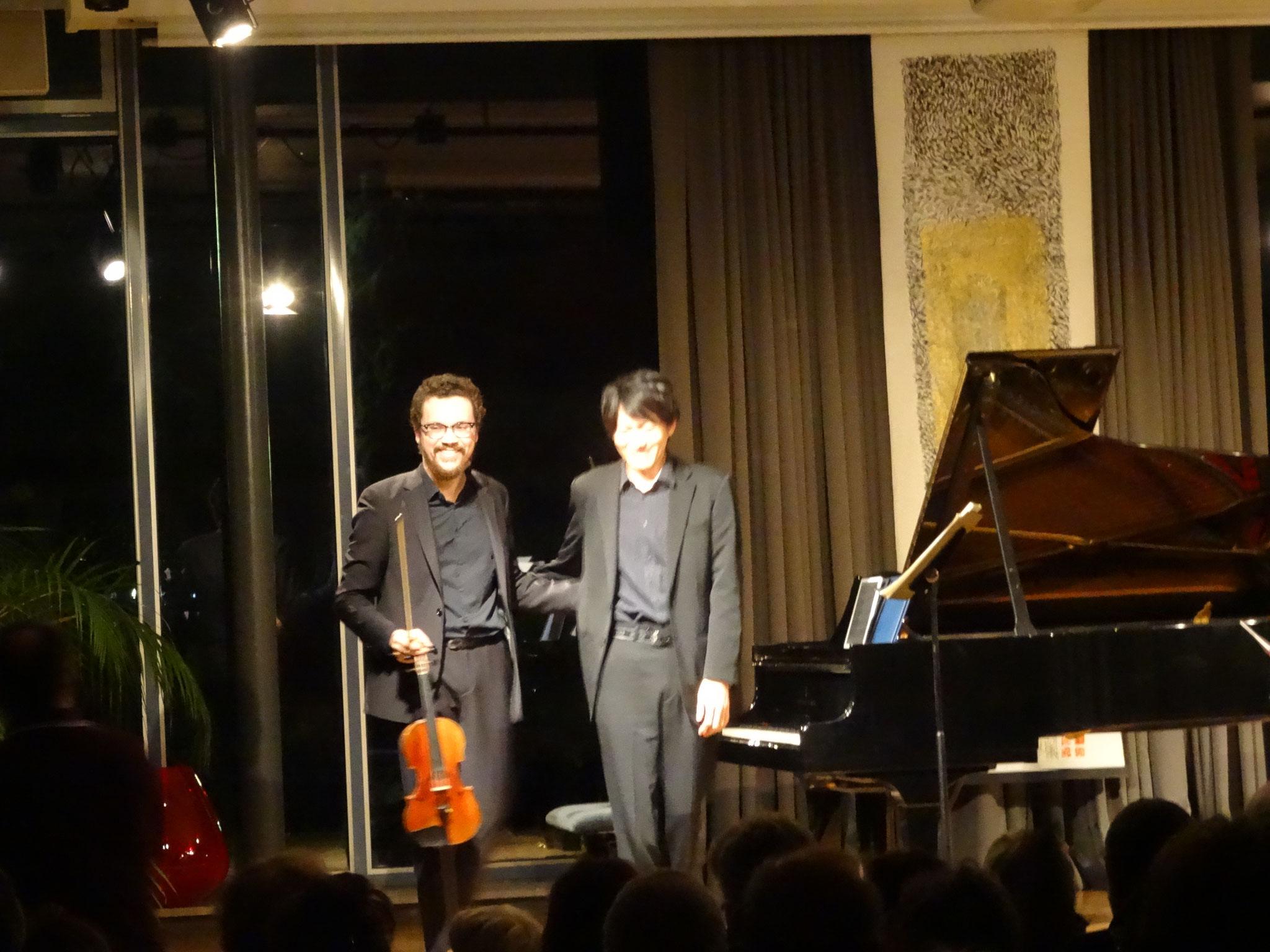 with Takuya Otaki, Maison Heinrich Heine
