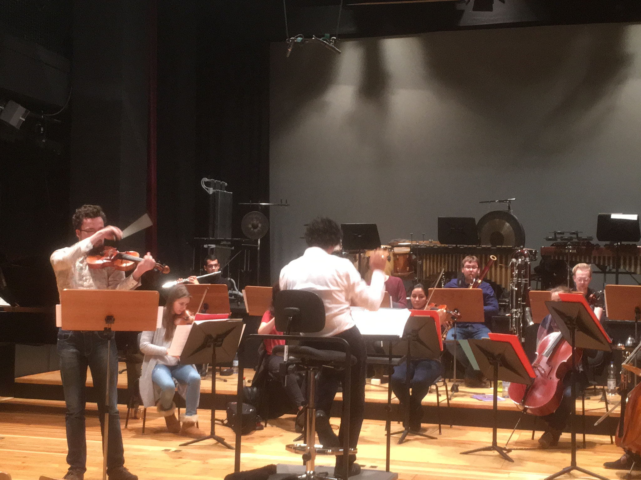 with Paris-Berlin Orchestra directed by Manuel Nawri