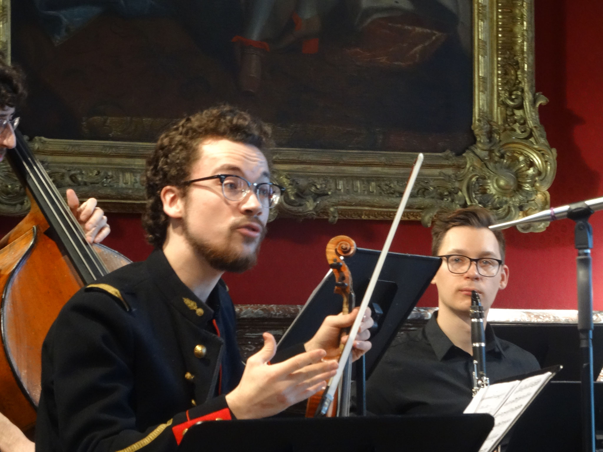 Histoire du Soldat by Stravinsky (violin and recitant), Invalides