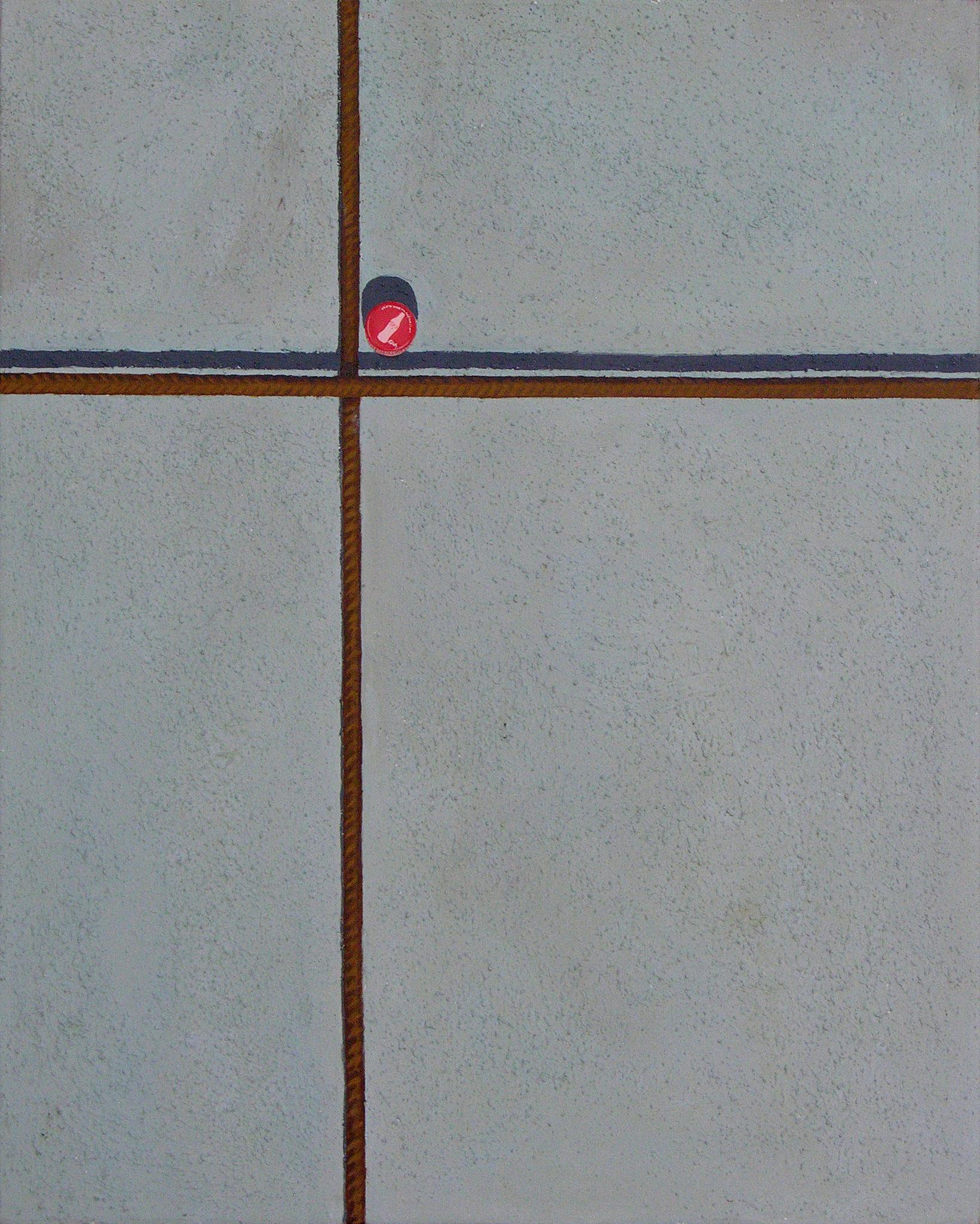 Acrylic on canvas, 81 x 100 cm, 2010
