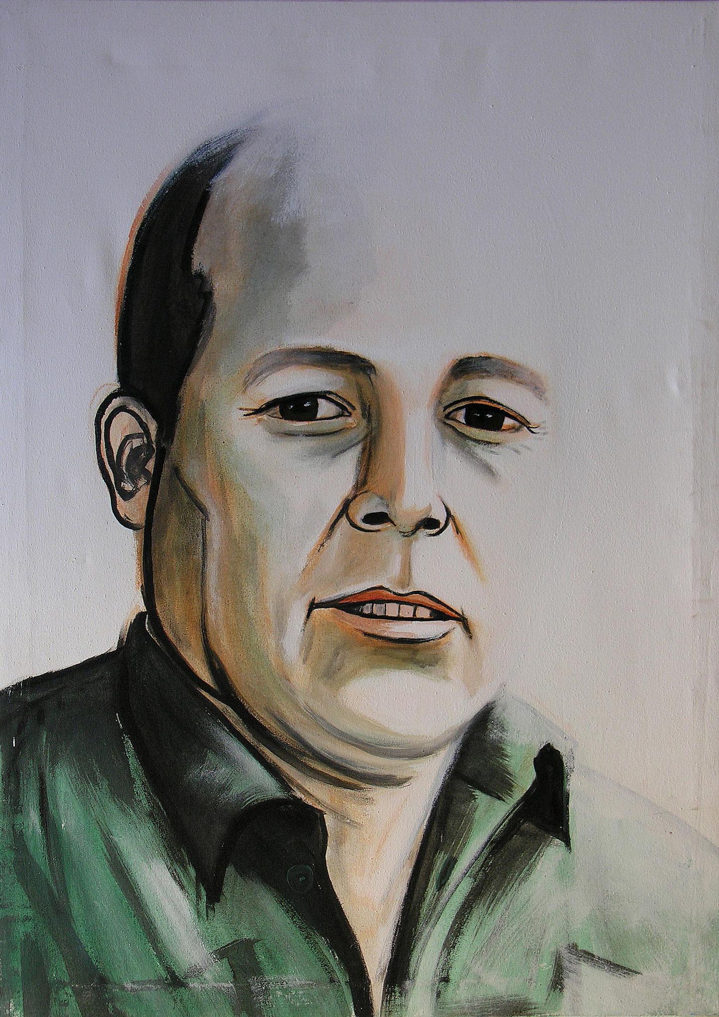 Brother, Acrylic on canvas, 110 x 70 cm, 2005
