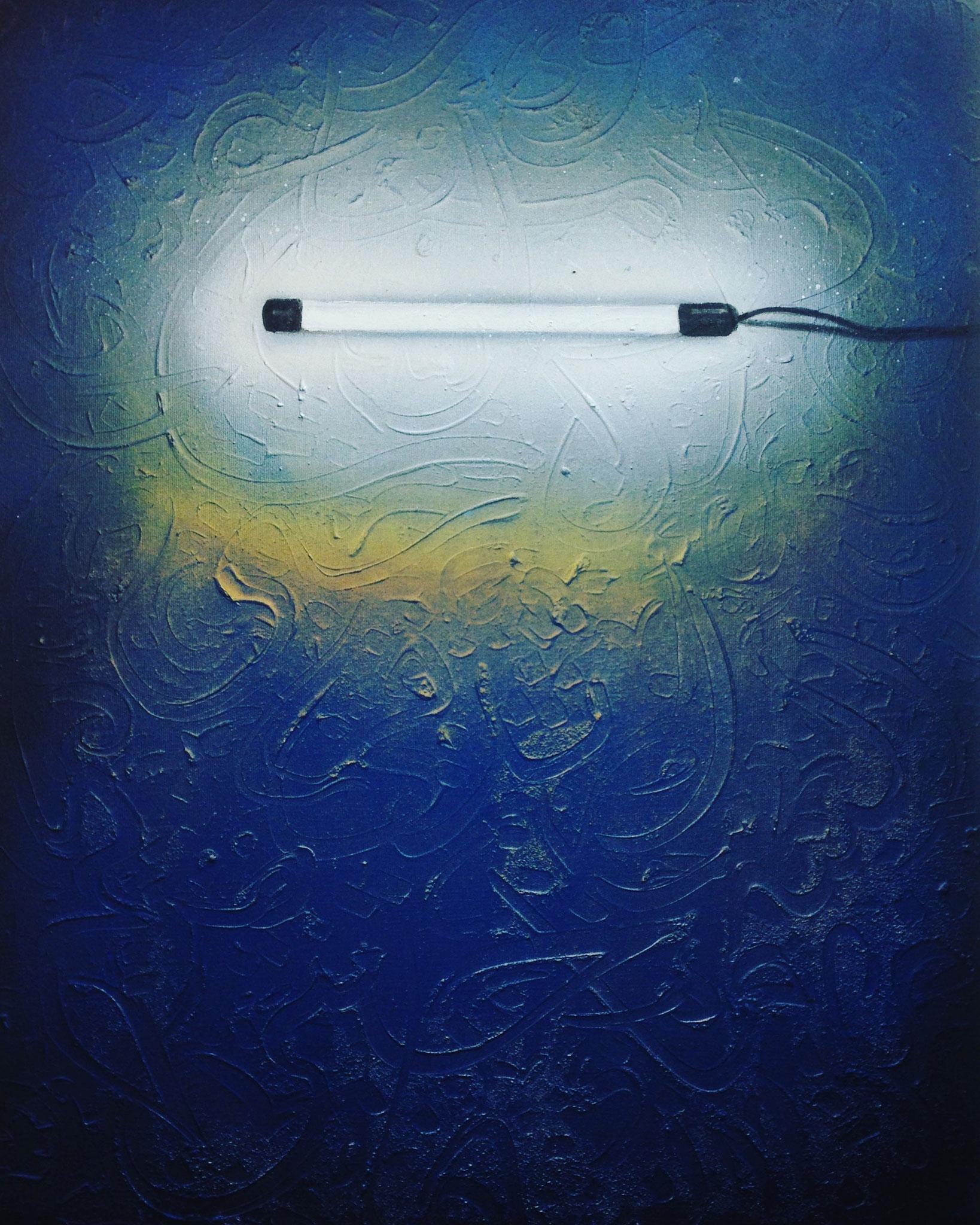 Gemischte Technik, 60 x 80 cm, 2018