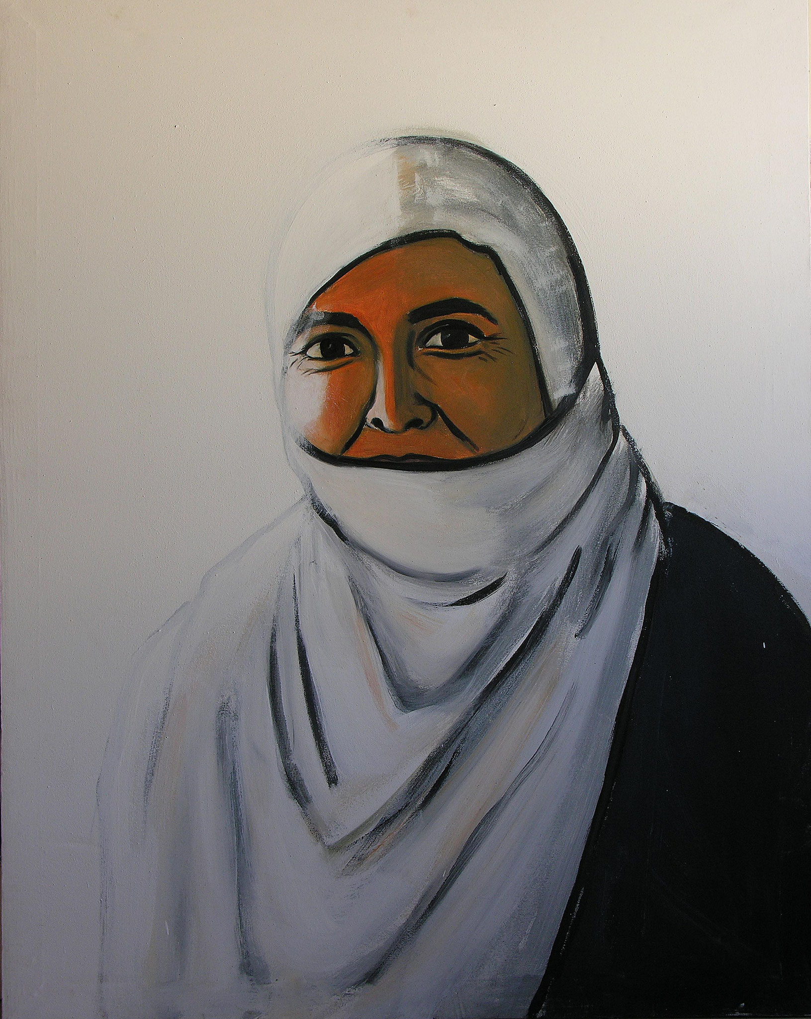 Sister, Acrylic on canvas,90 x 130 cm, 2005