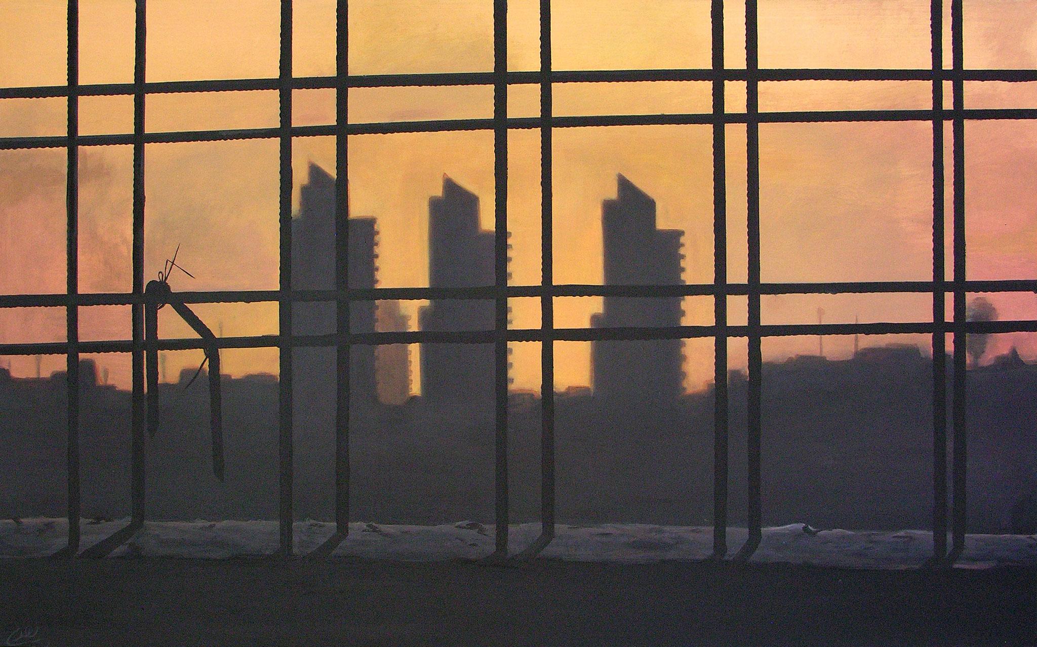 Acrylic on canvas, 190 x 130 cm, 2010