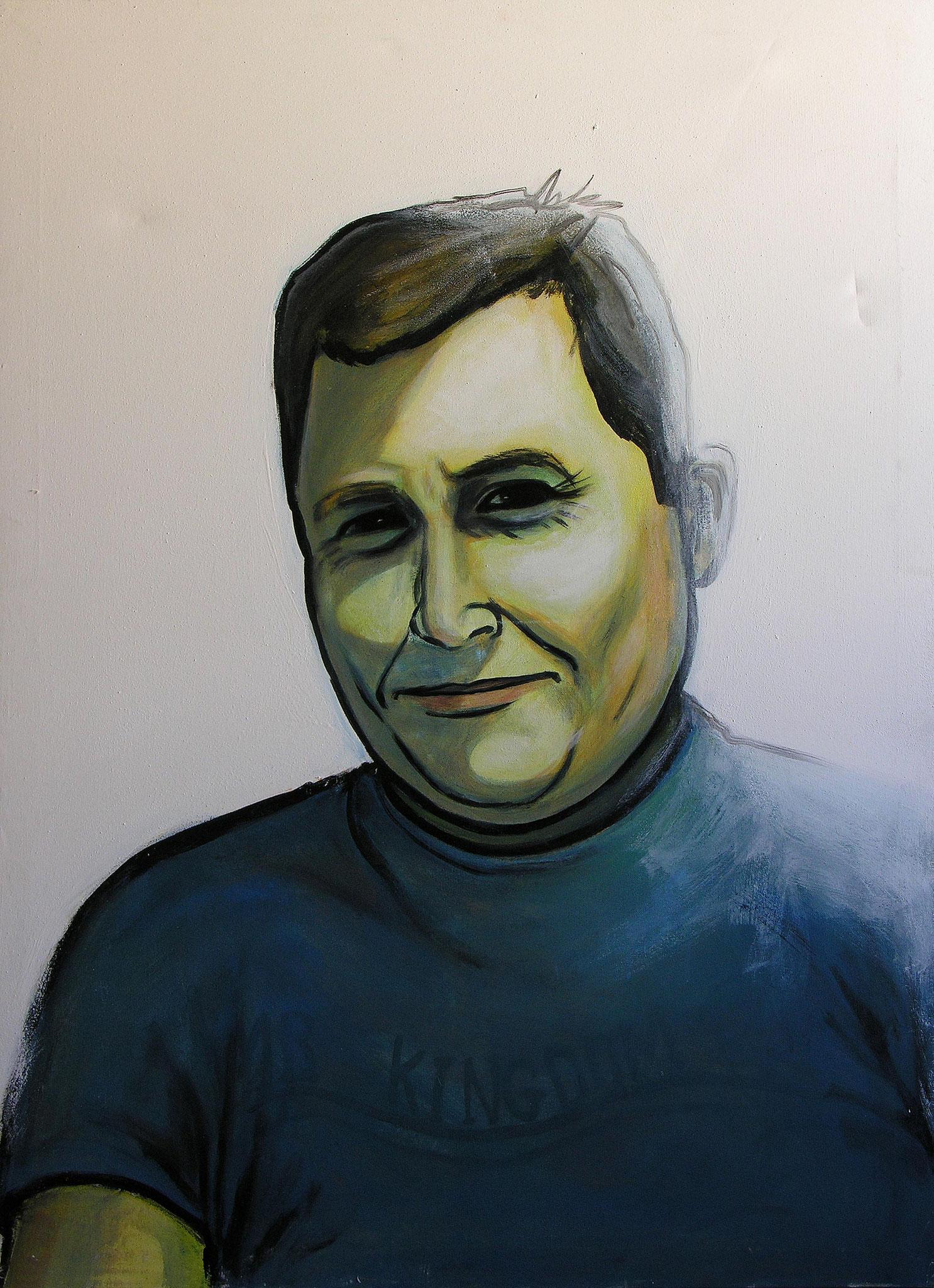 Brother, Acrylic on canvas,90 x 130 cm, 2005