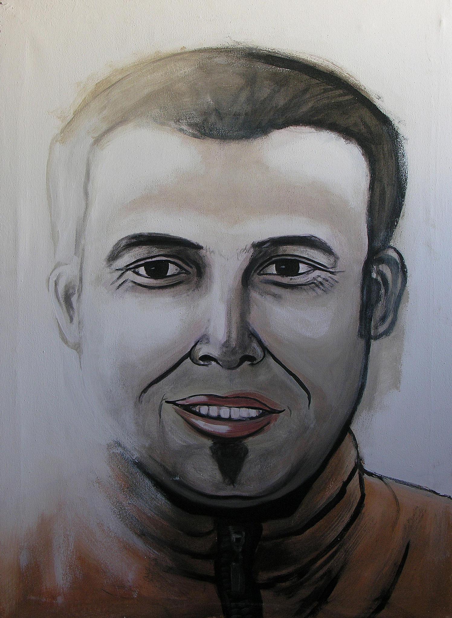Brother, Acrylic on canvas, 100 x 70 cm, 2005