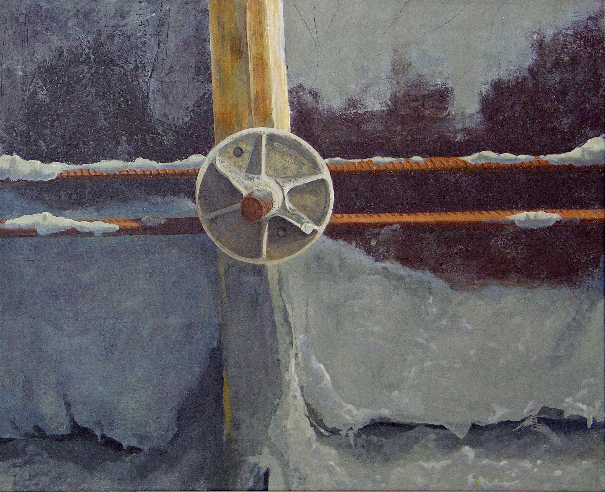 Acrylic on canvas , 108 x 79 cm, 2010