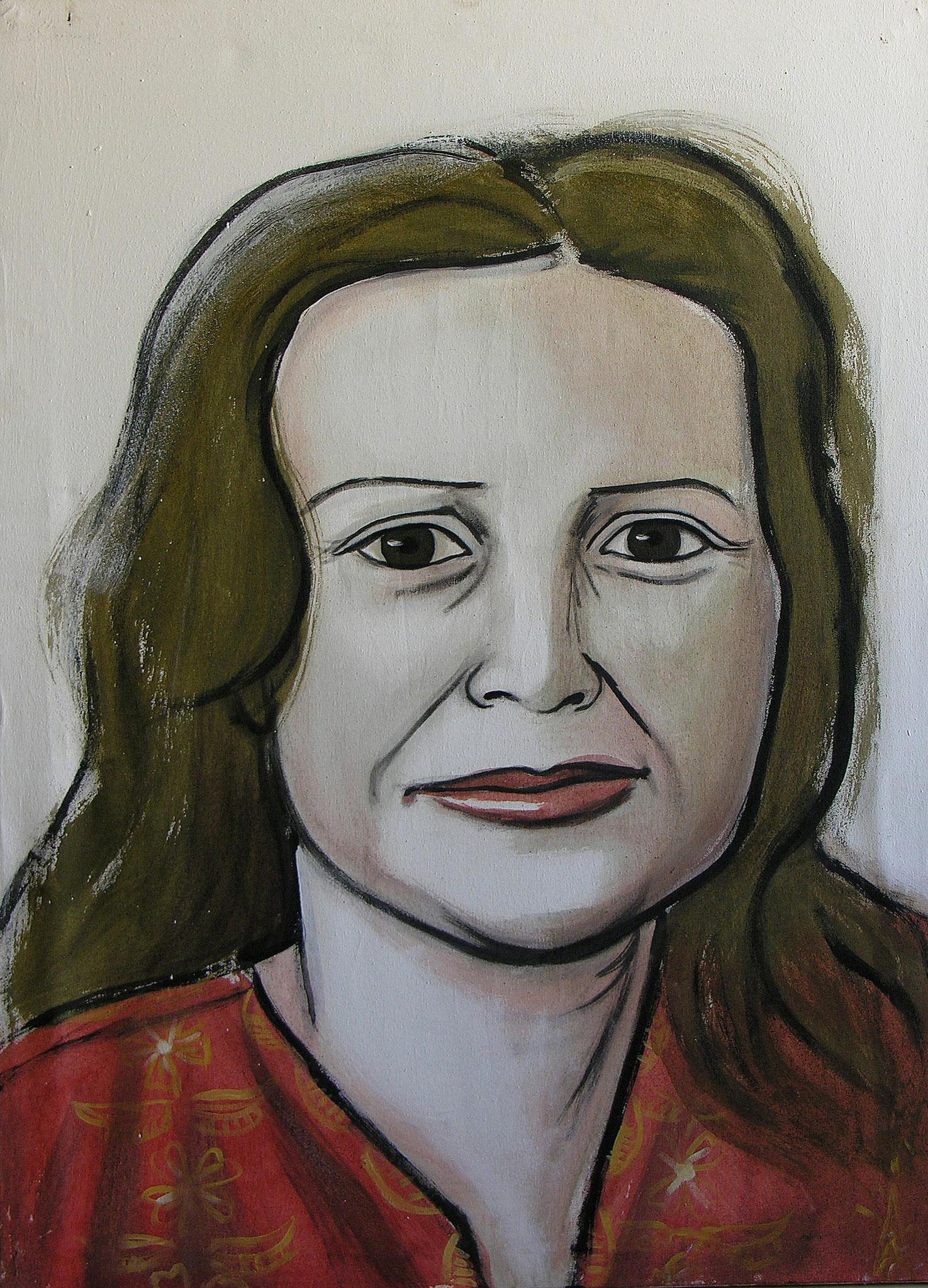 Sister, Acrylic on canvas, 100 x 70 cm, 2005
