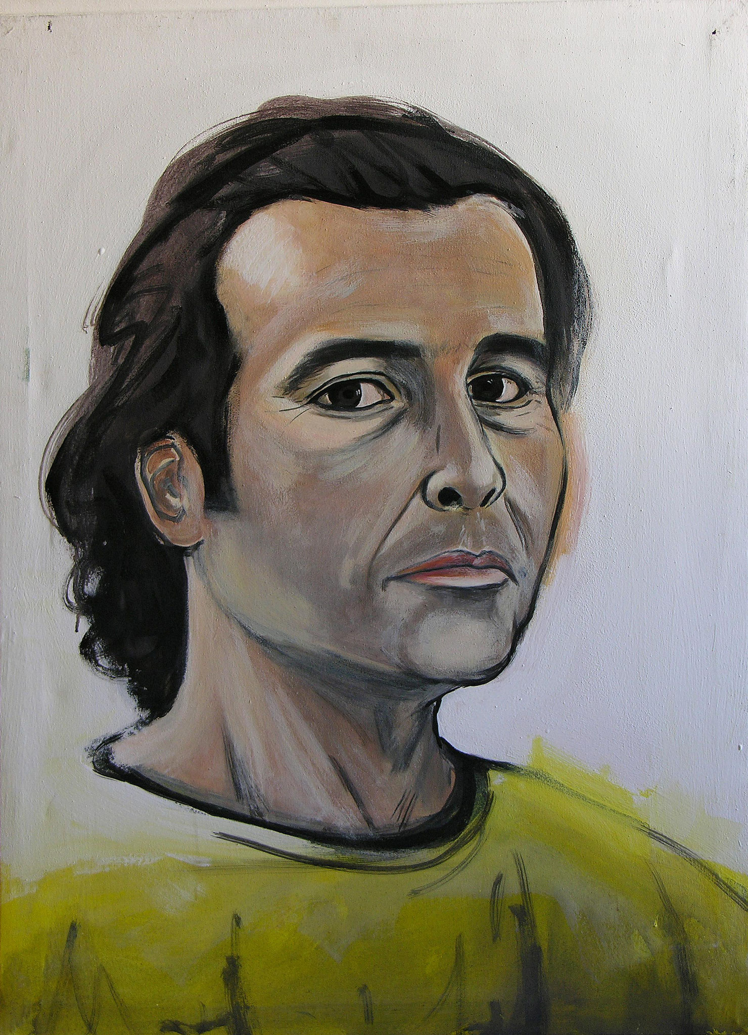 Me, Acrlylic on canvas, 90 x 130 cm, 2005