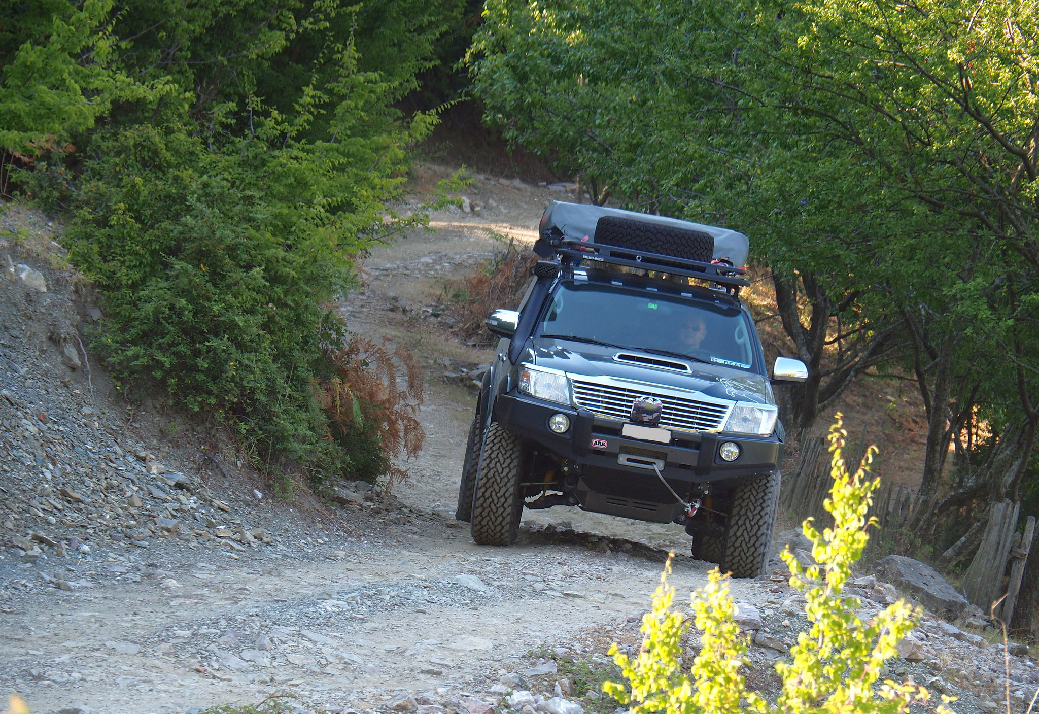 Offroad-Tour in Albanien 2017