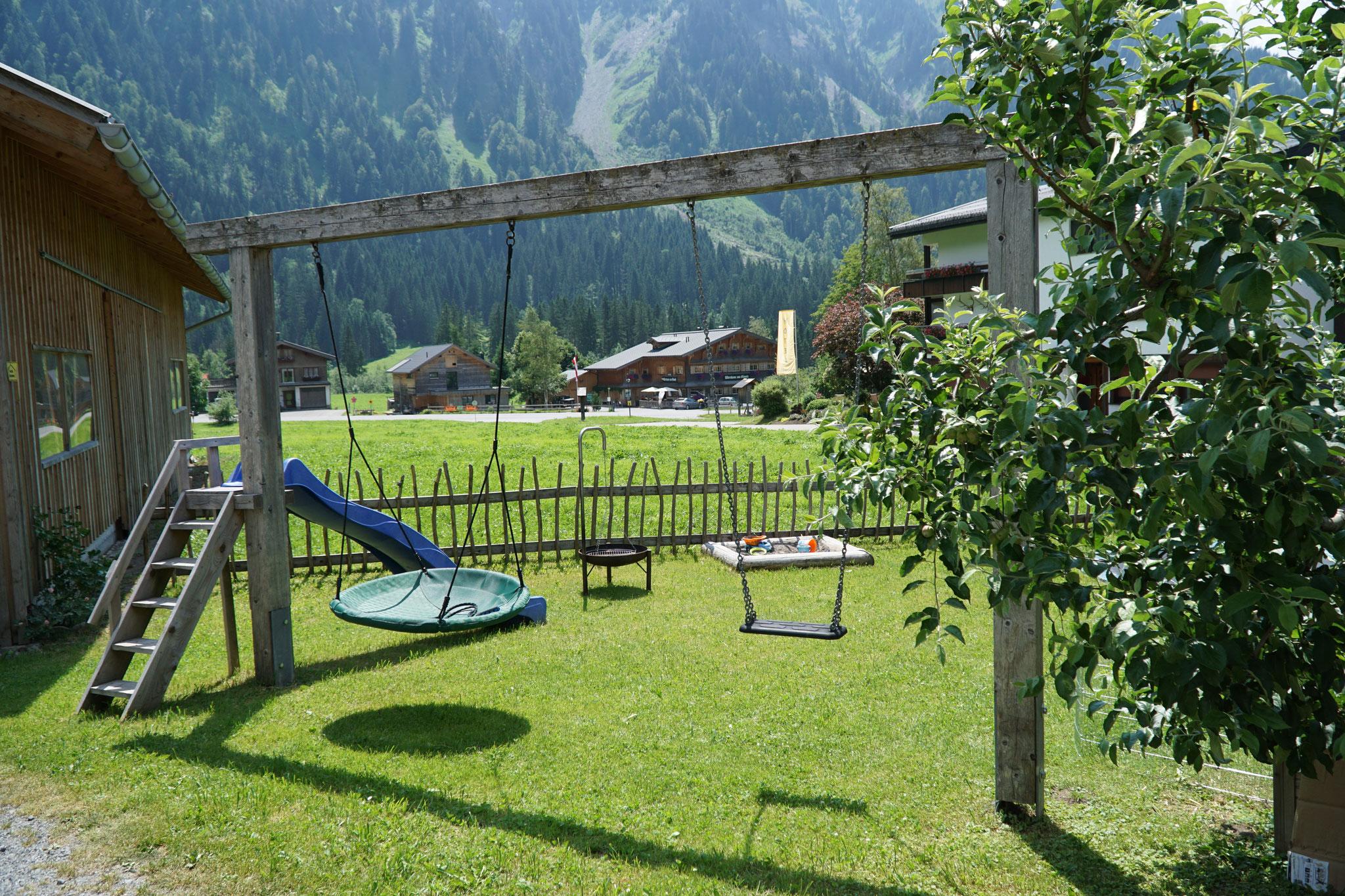 Urlaub mit Kindern im Bregenzerwald.