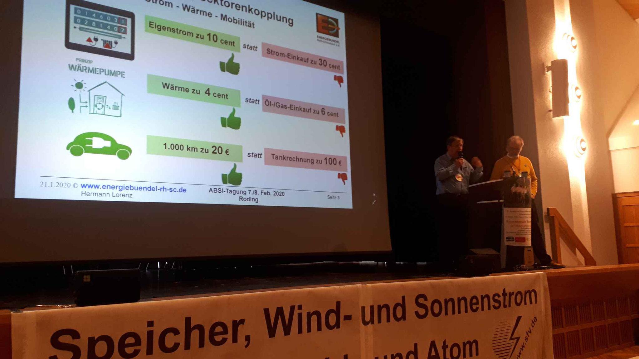 ... und stellt Sektorenkopplung Strom-Wärme-Mobilität in den Mittelpunkt