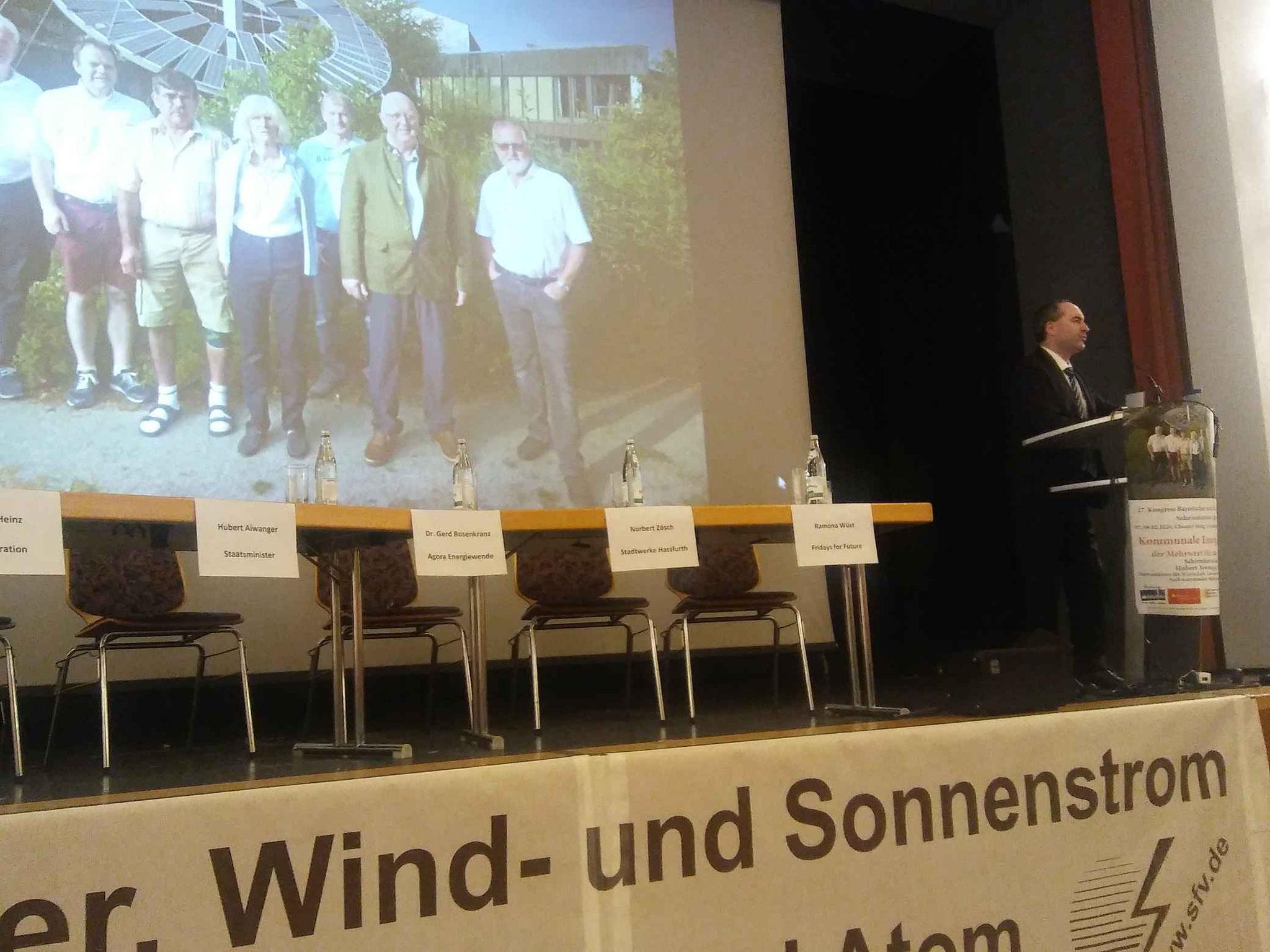 Solartagung in Roding mit Bayerischen Wirtschaftsminister Hubert Aiwanger