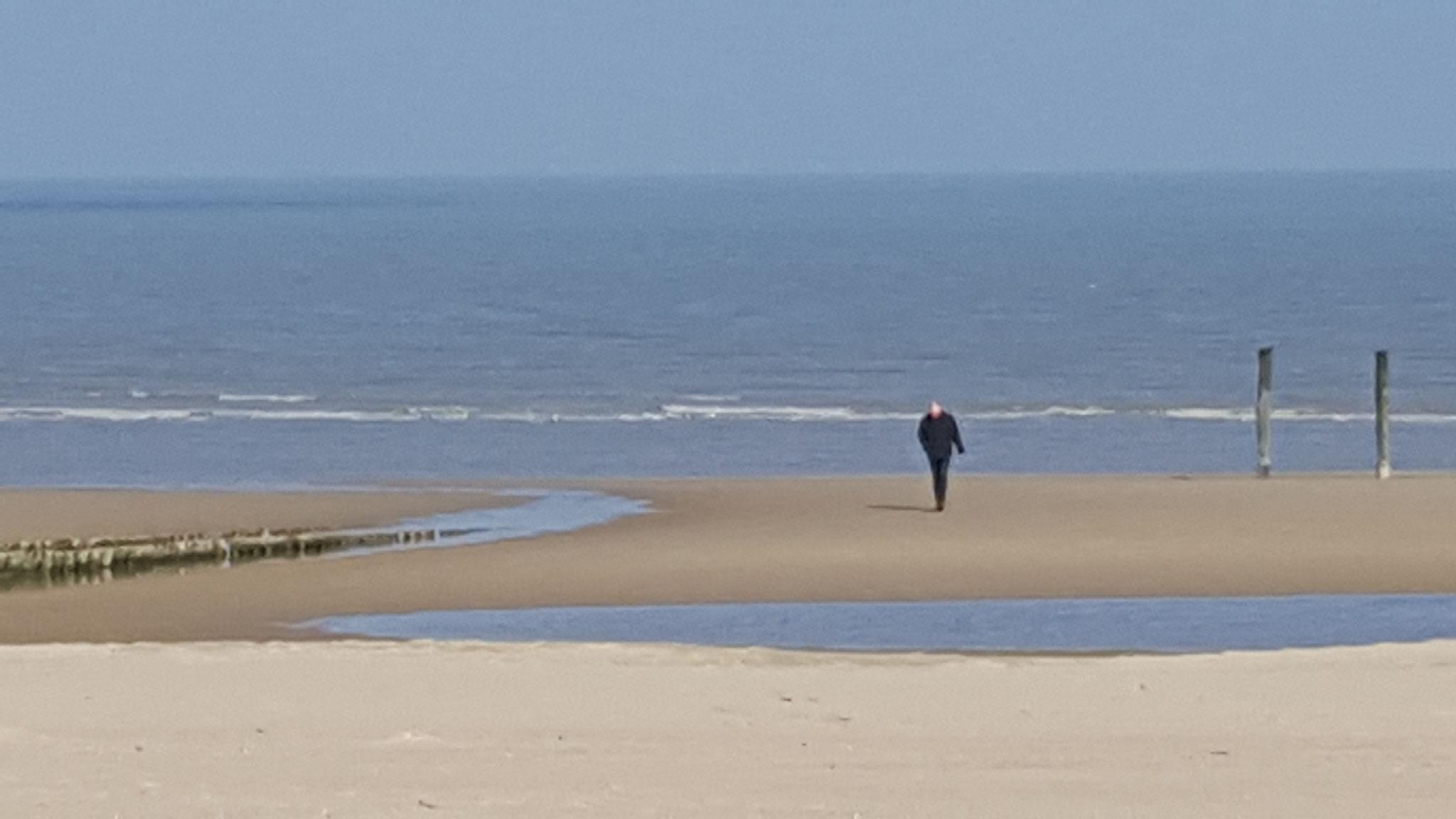 Lekker uitwaaien aan de kust