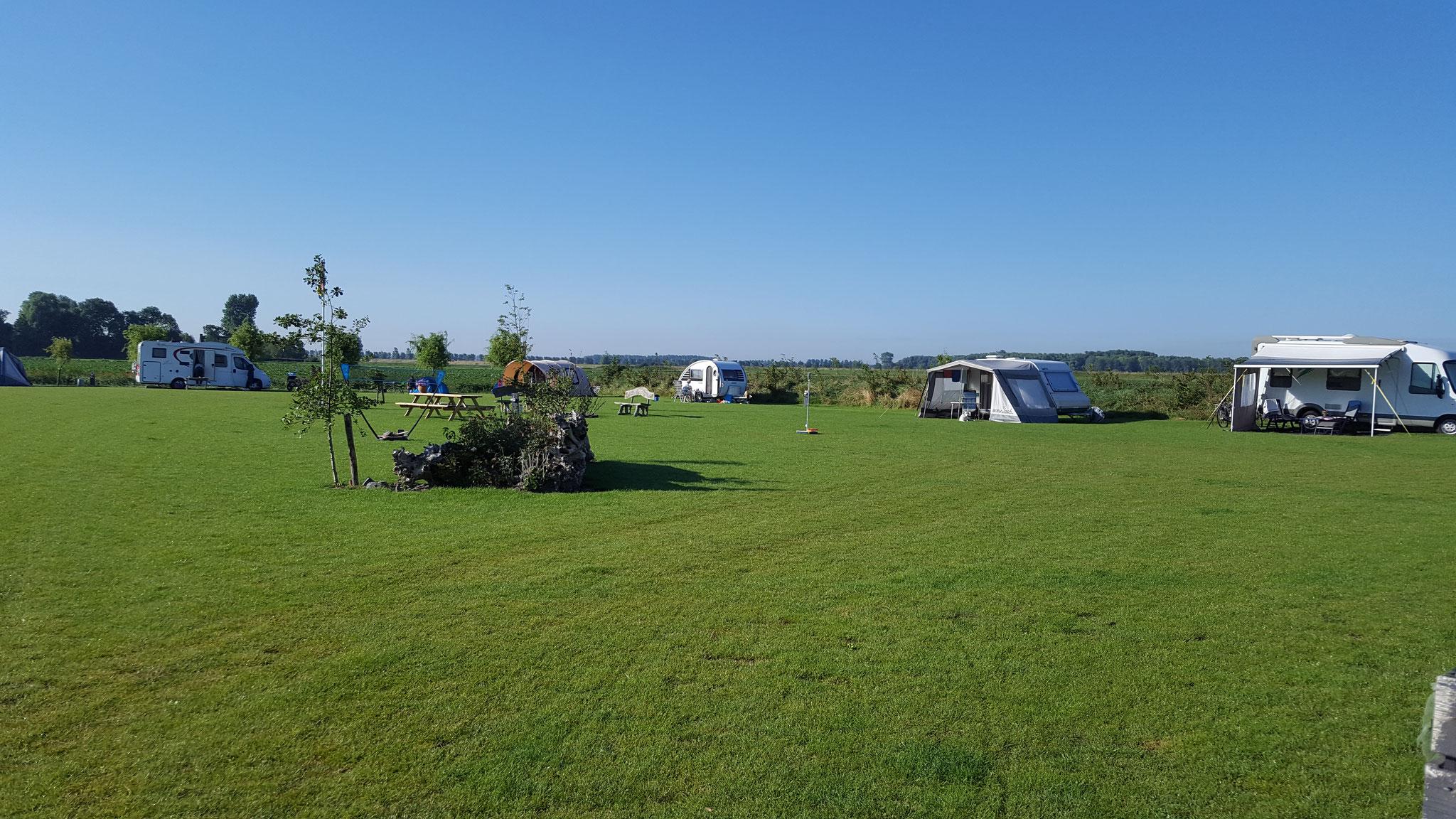 Onze gezellige maar rustige camping