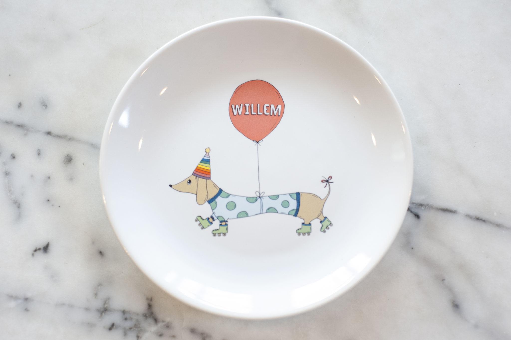 Pretty Plate Kids 'Feesthond'