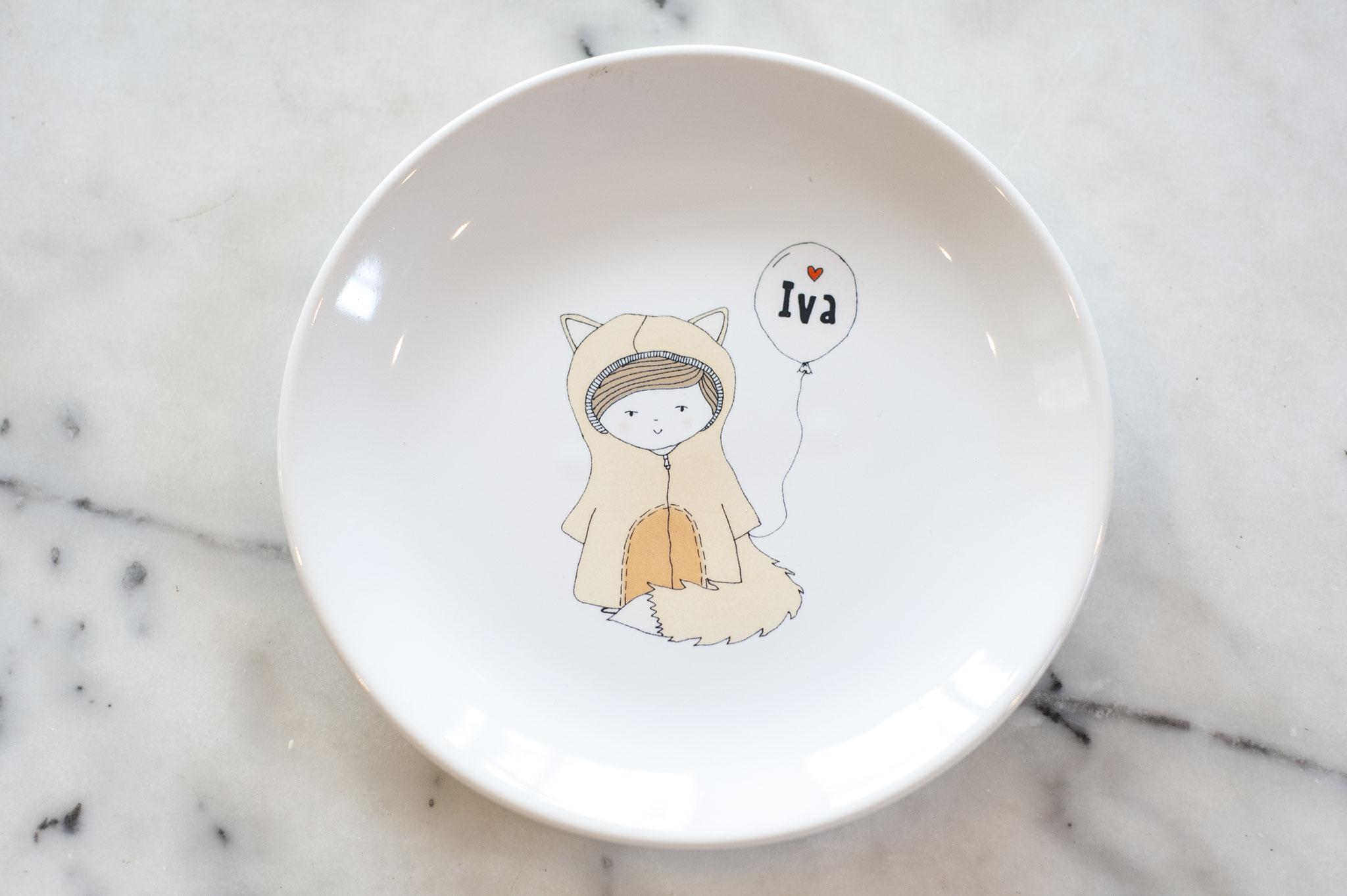 Pretty Plate Huwelijk ''Little Bear'
