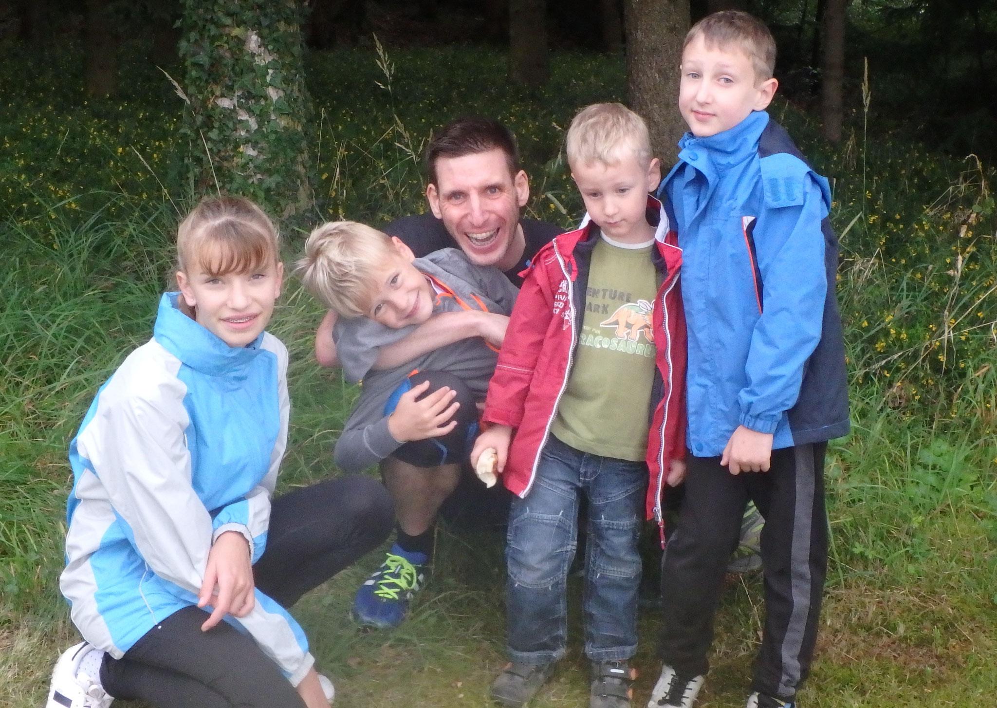 Boot Camp mit Kinder
