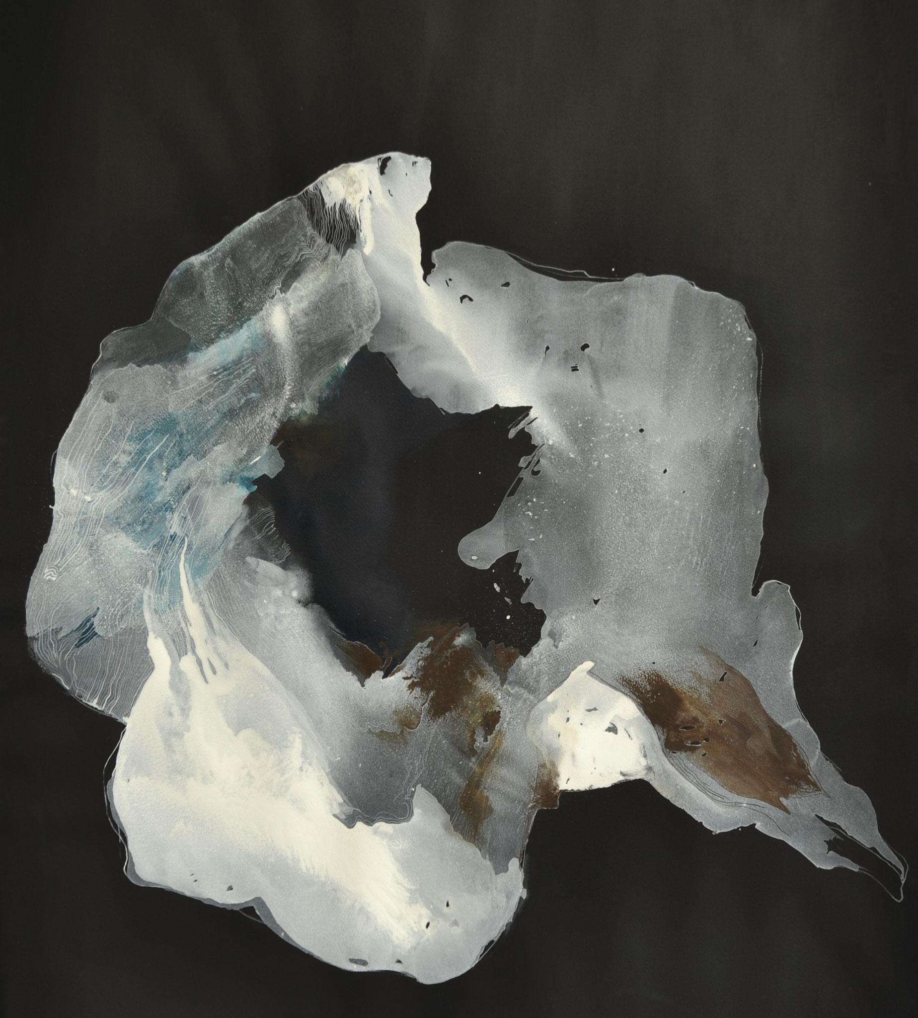 Antarctica, gouache op papier, 78x111
