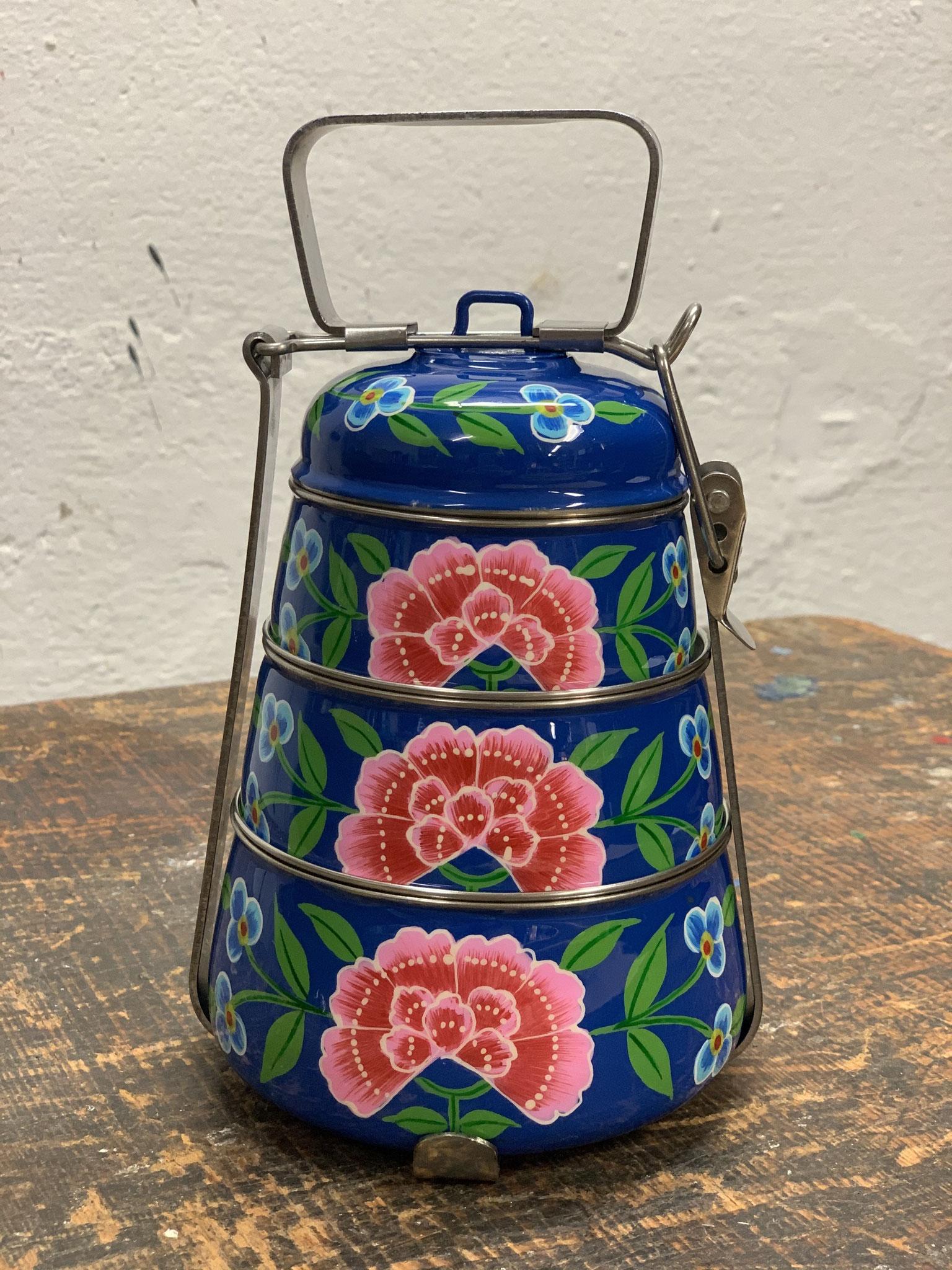 3er-blau mit Blumen-29€