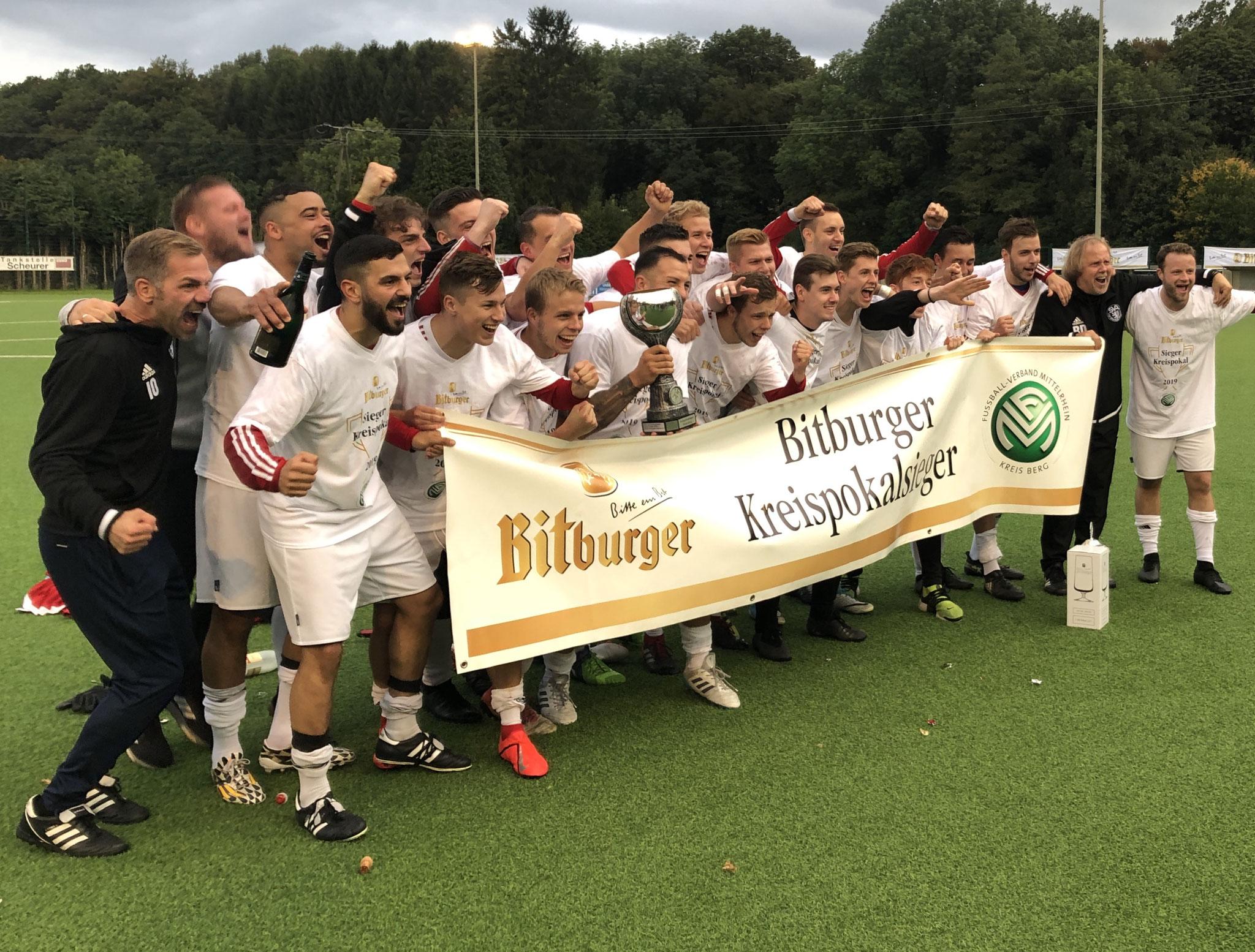 Kreispokalsieger 2019 !