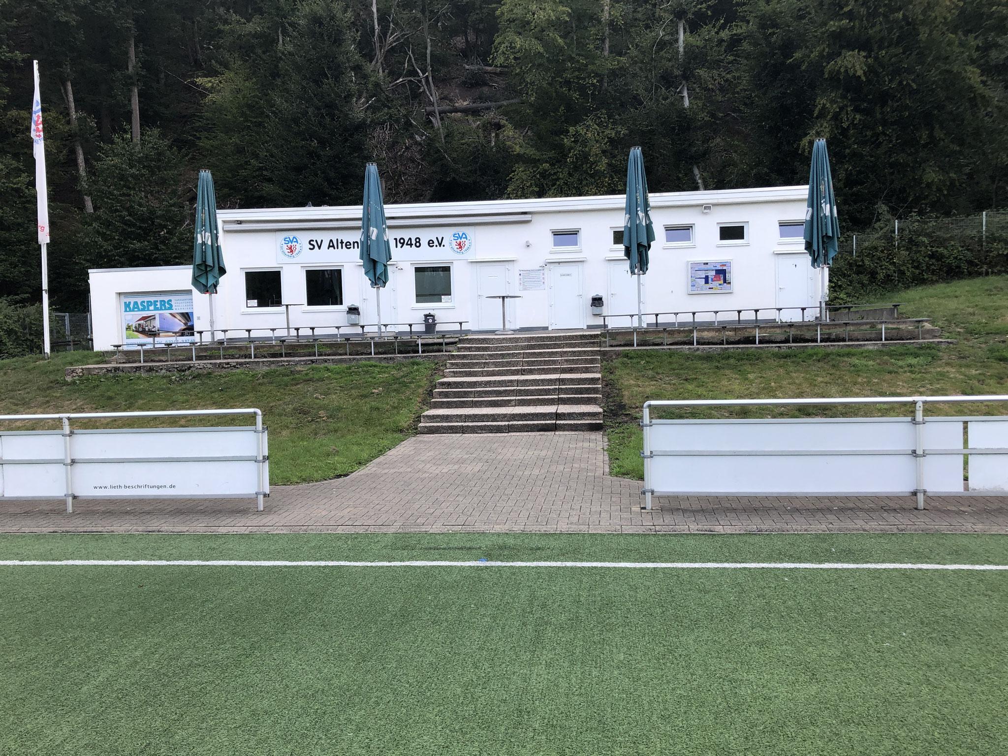 Umkleidekabinen / Vereinsheim
