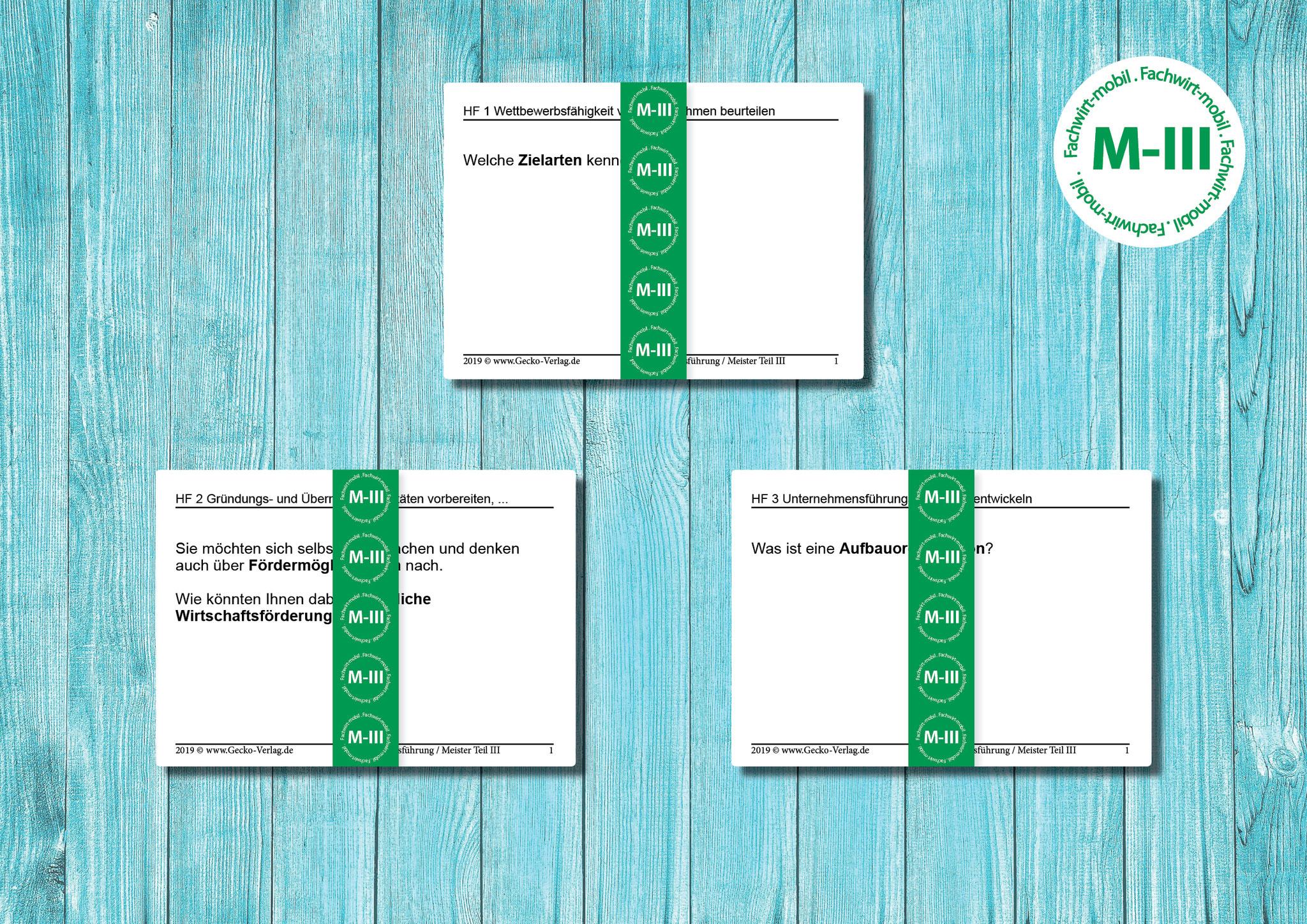 Ihre Lernkarten (gedruckt, geschnitten, sortiert)   Image: Pixabay