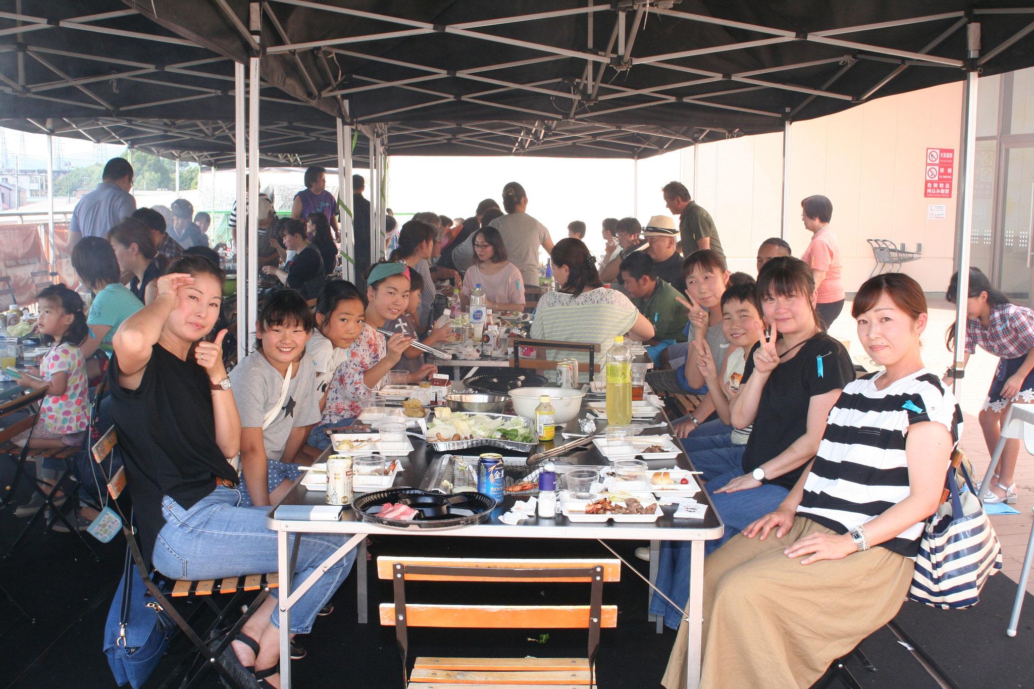 アリオ橋本では晴天に恵まれました