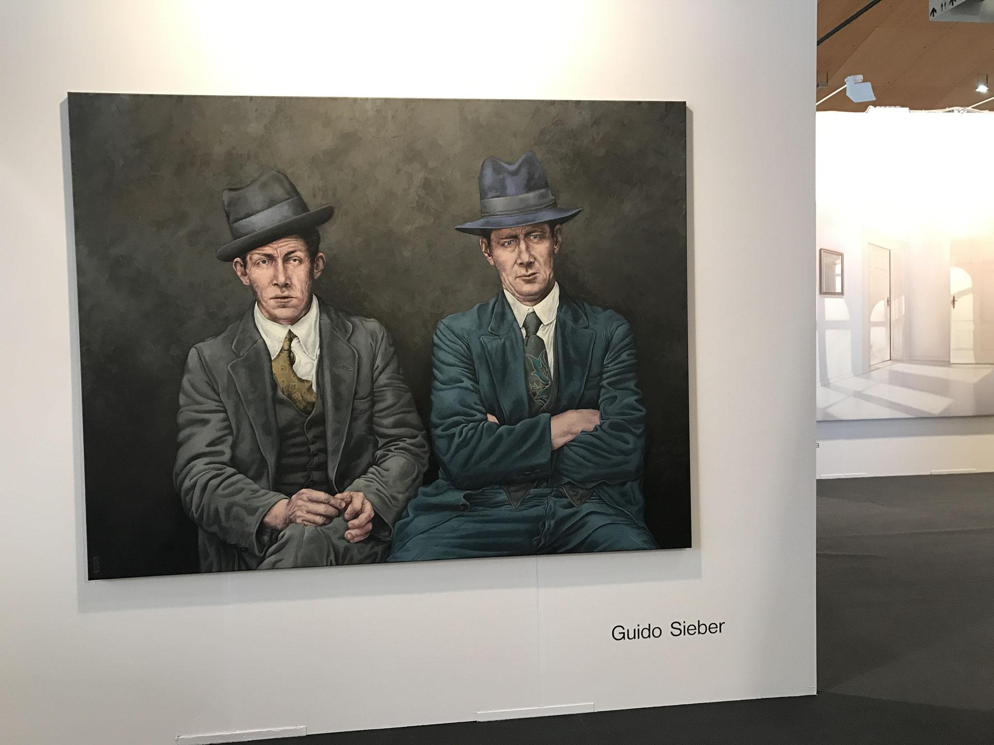 Art Karlsruhe 2017 ,Halle 3 ,Galerie Friedmann-Hahn