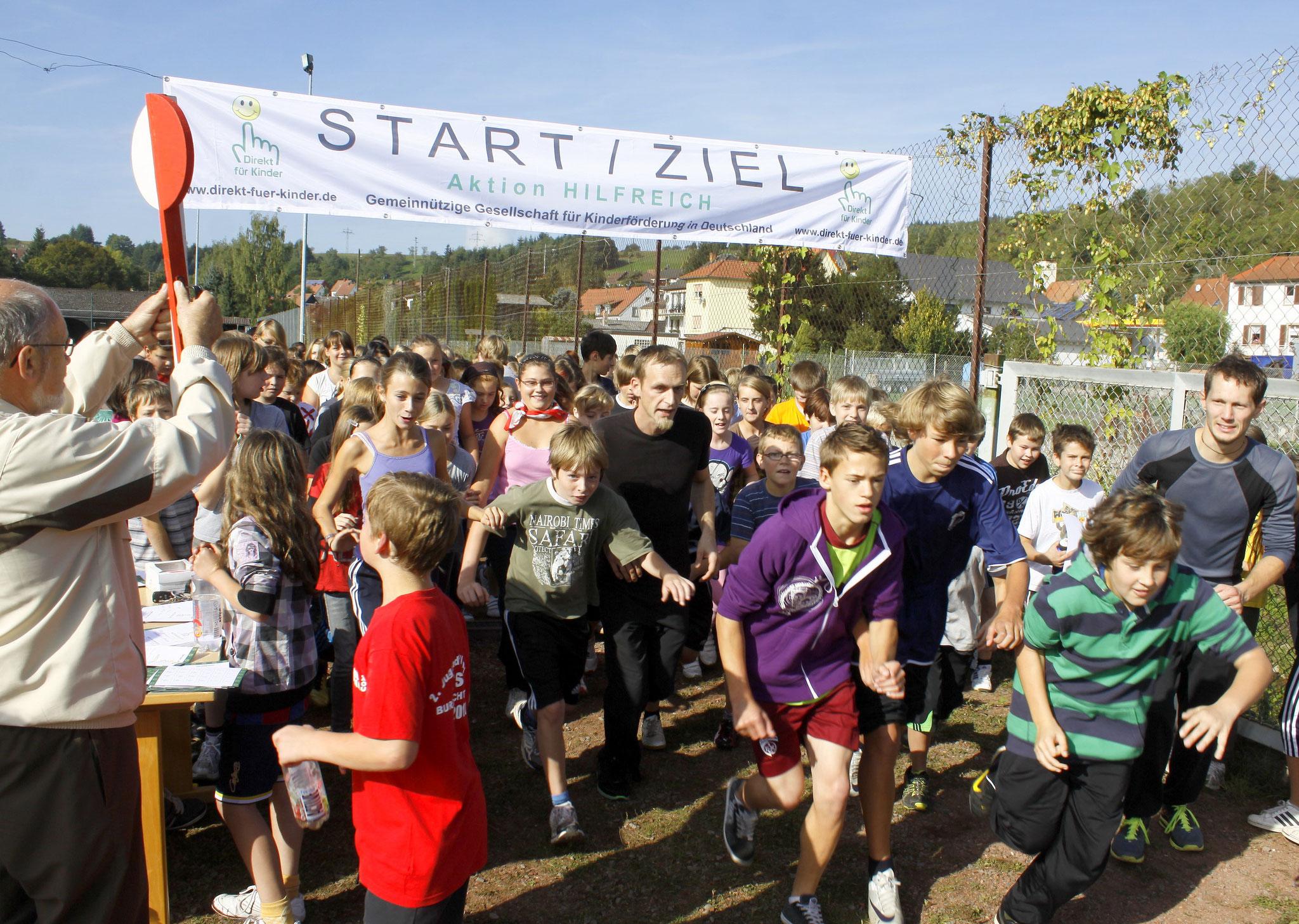 10 x Spendenlauf, Realschule plus in Altenglan