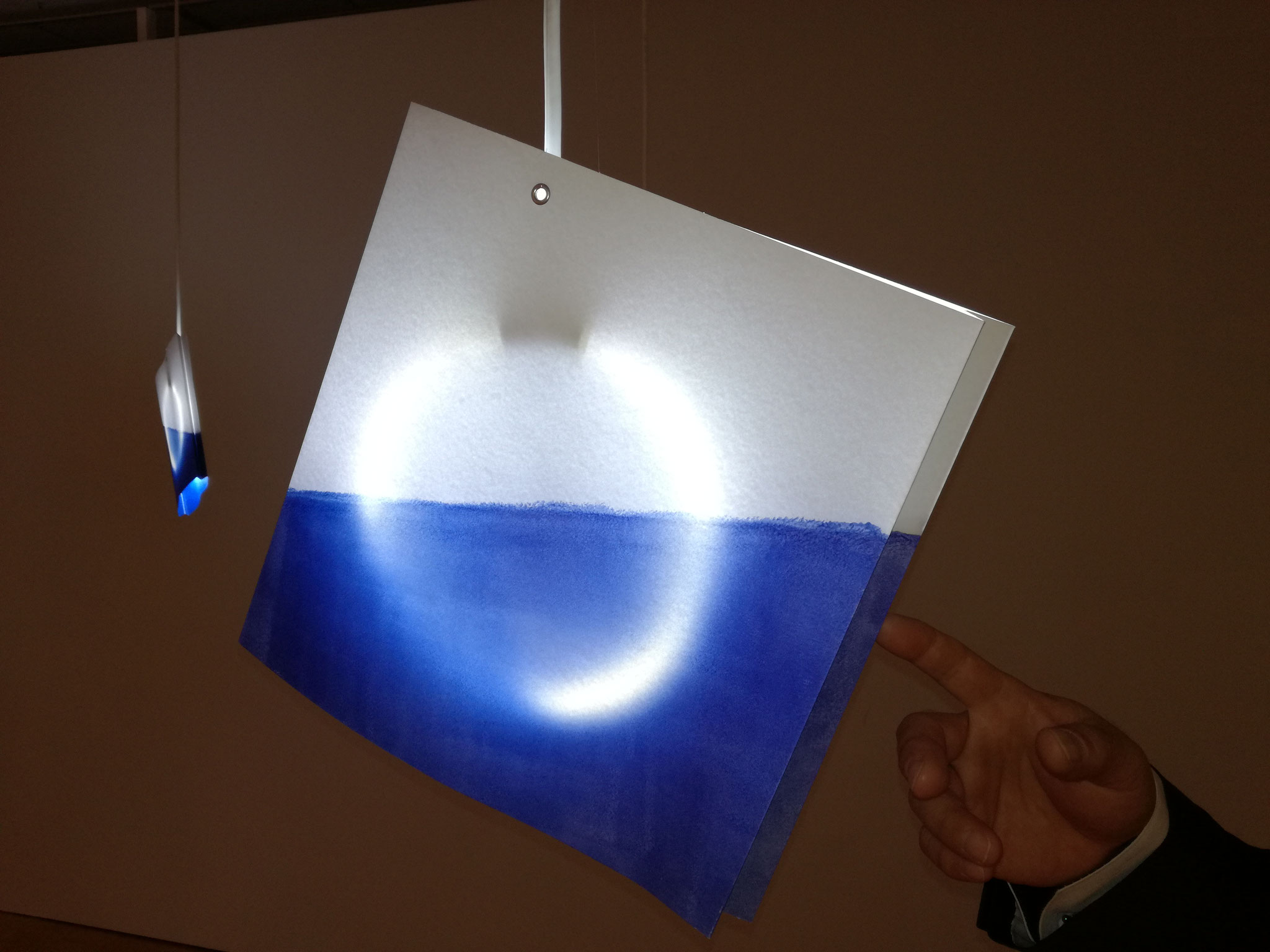 KTカラーを使用した照明