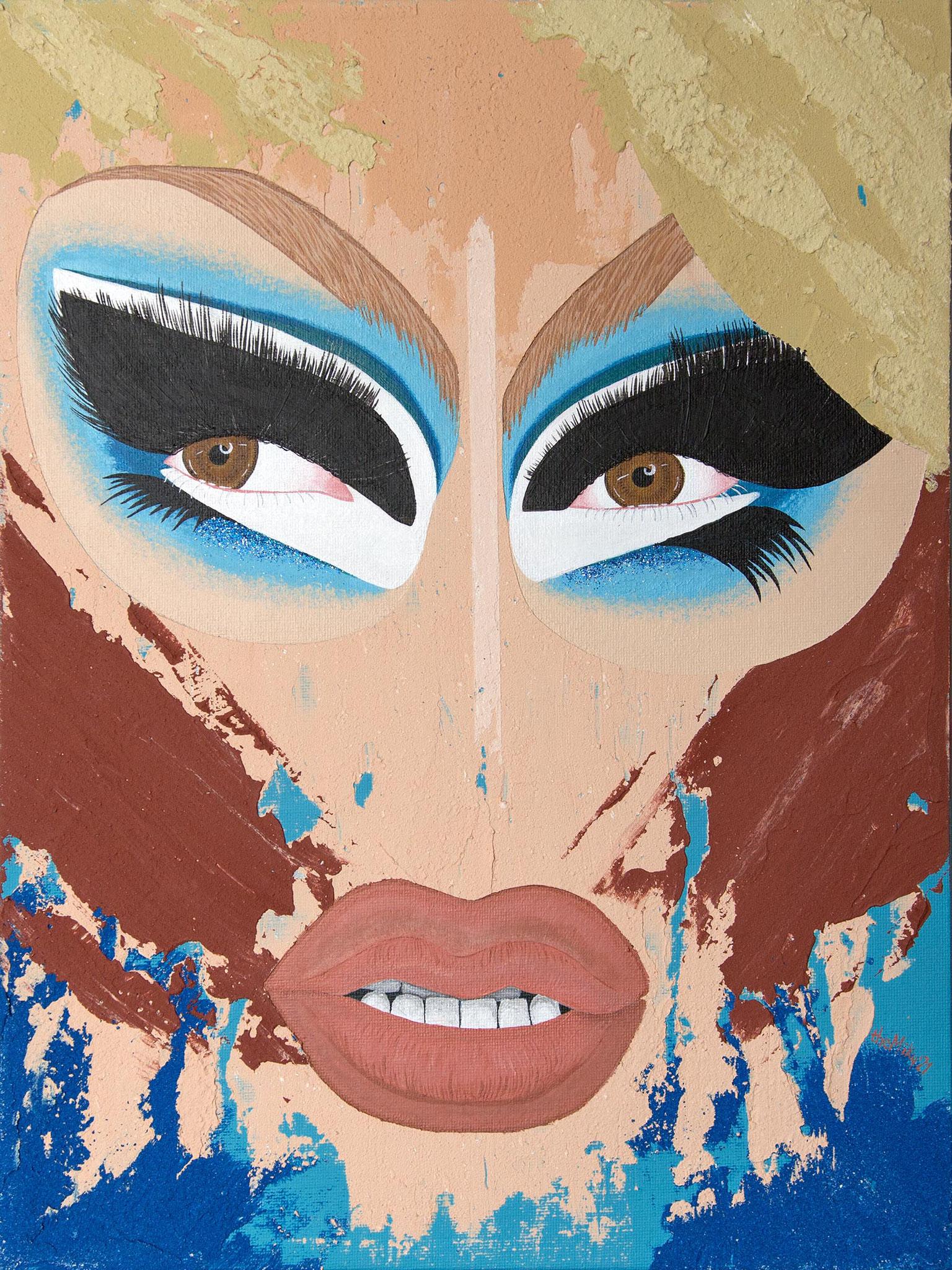Trixie Mattel Royal Blue