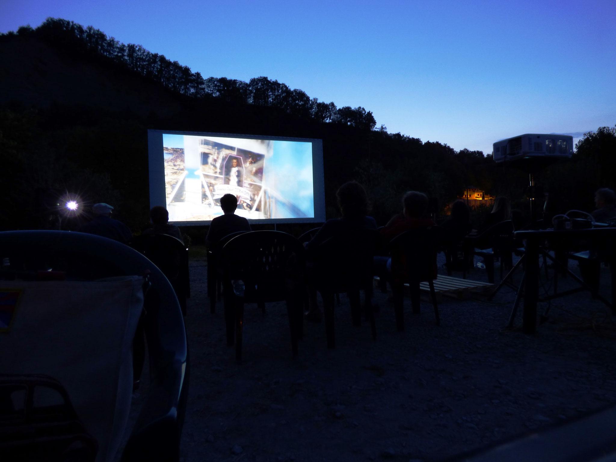 Cinema Le Grazie Sotto Le Stelle e tra i fiori - Vivaio s. Martino Bobbio Val Trebbia