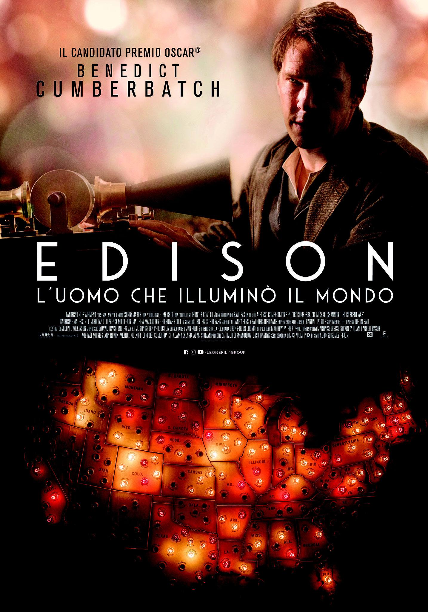 EDISON – L'UOMO CHE ILLUMINÒ IL MONDO venerdì 16, sabato 17, domenica 18, lunedì 19, martedì 20, mercoledì 21: ore 21:15 #EDISON – L'uomo Che Illuminò Il Mondo