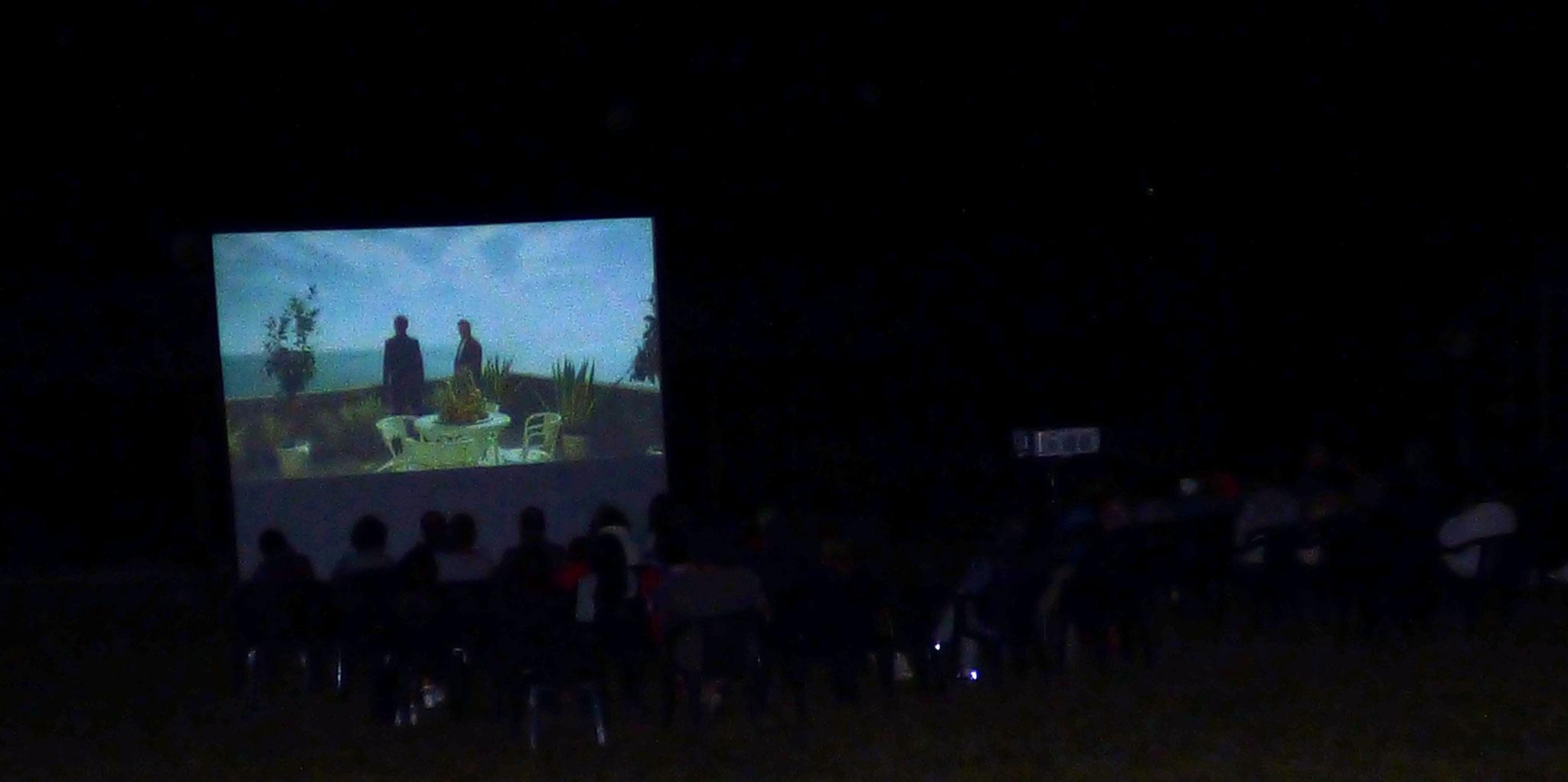 cinema sotto le stelle - parco archeologico di Travo 22 agosto