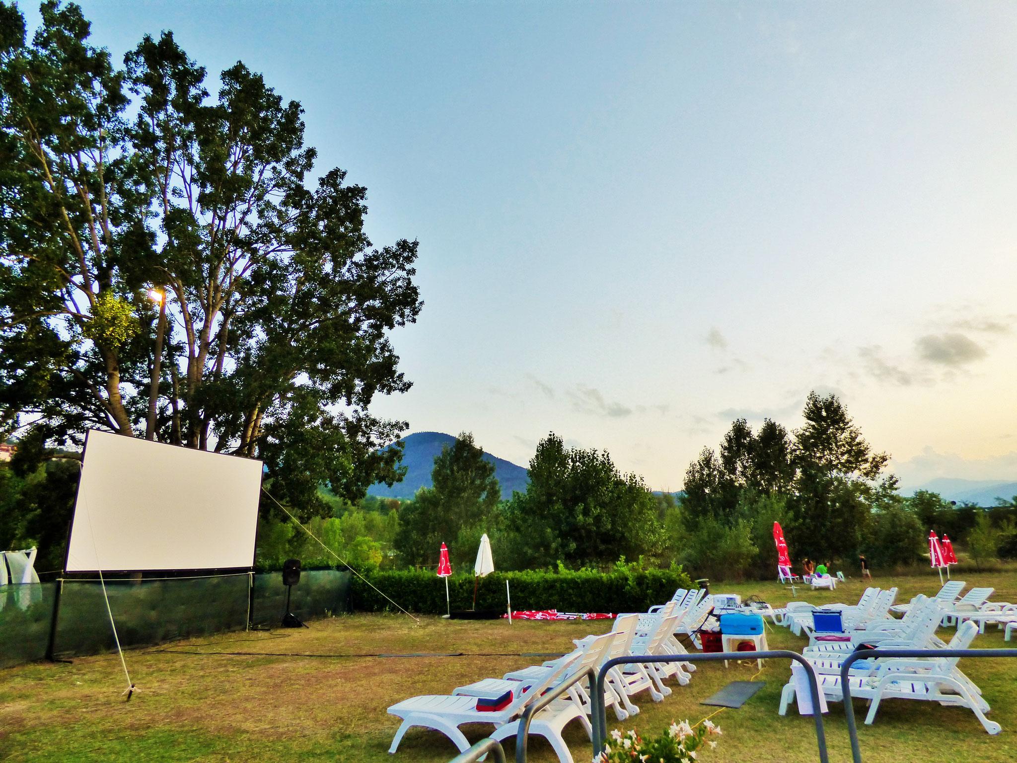 Piscina comunale Perino - Cinema sotto le Stelle 14 agosto 2020