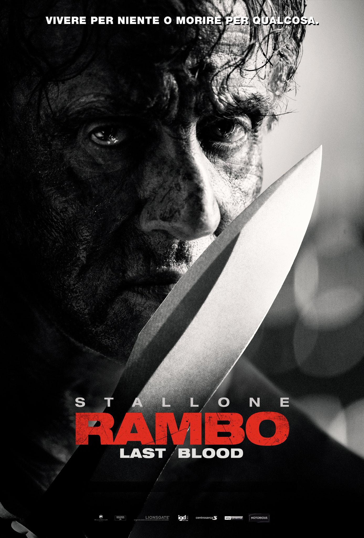 RAMBO LAST BLOOD giovedì 10, venerdì 11, sabato 12, domenica 13: ore 21:15  #Rambo: #LastBlood