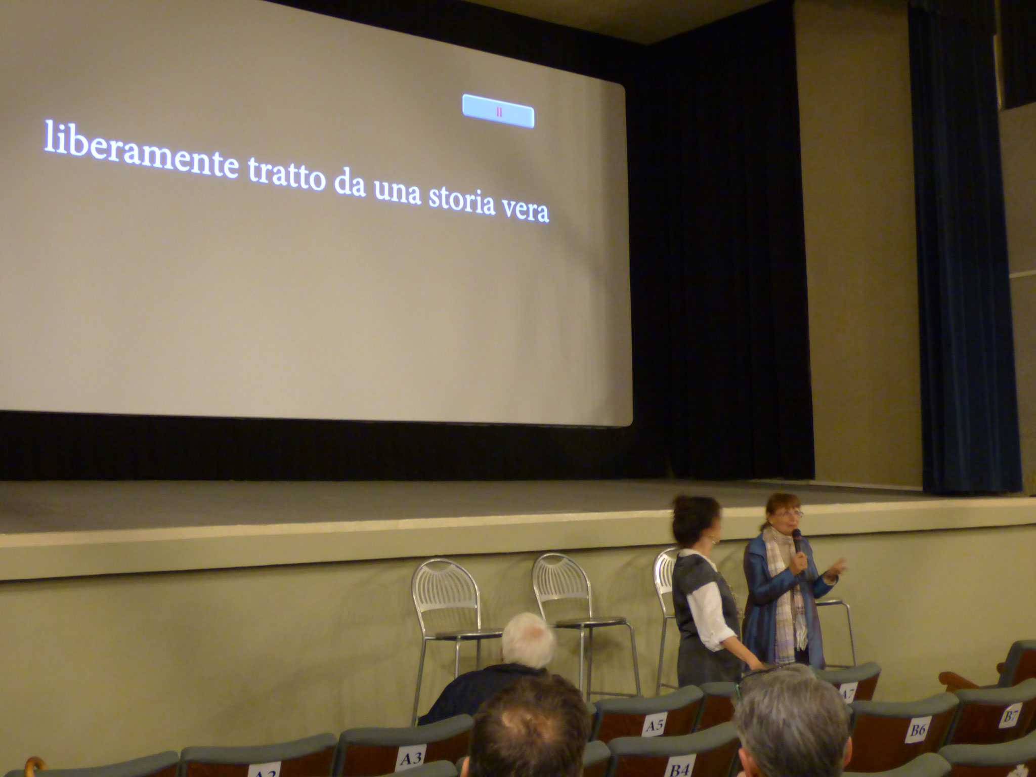 L'ULTIMA INTERVISTA #LultimaIntervista al Cinema Le Grazie Bobbio <3 SABATO 5 maggio: ore 18,00 - ENTRATA LIBERA presenti in sala la Regista e tutti gli attori - seguirà dibattito