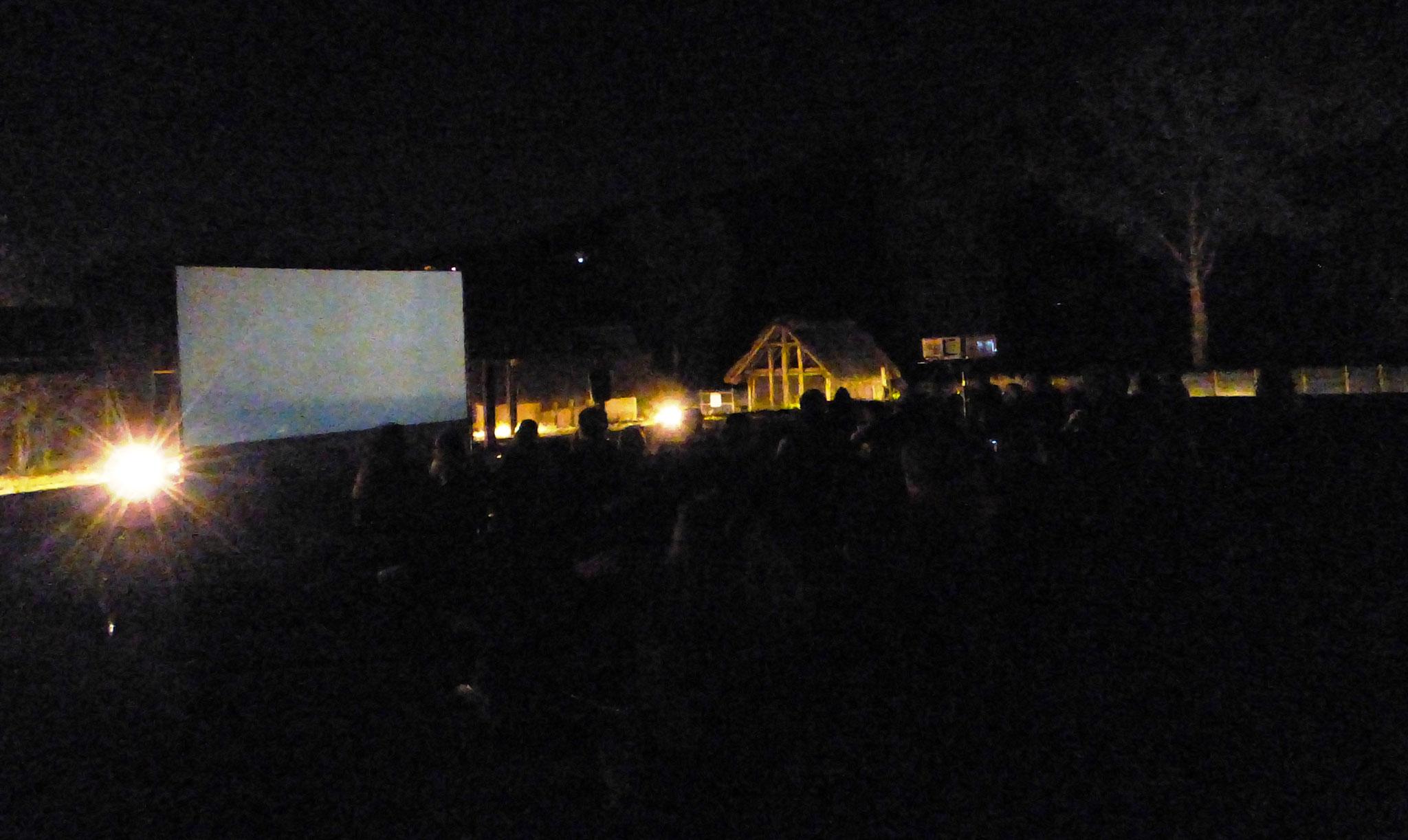 cinema sotto le stelle - parco archeologico di Travo 23 agosto