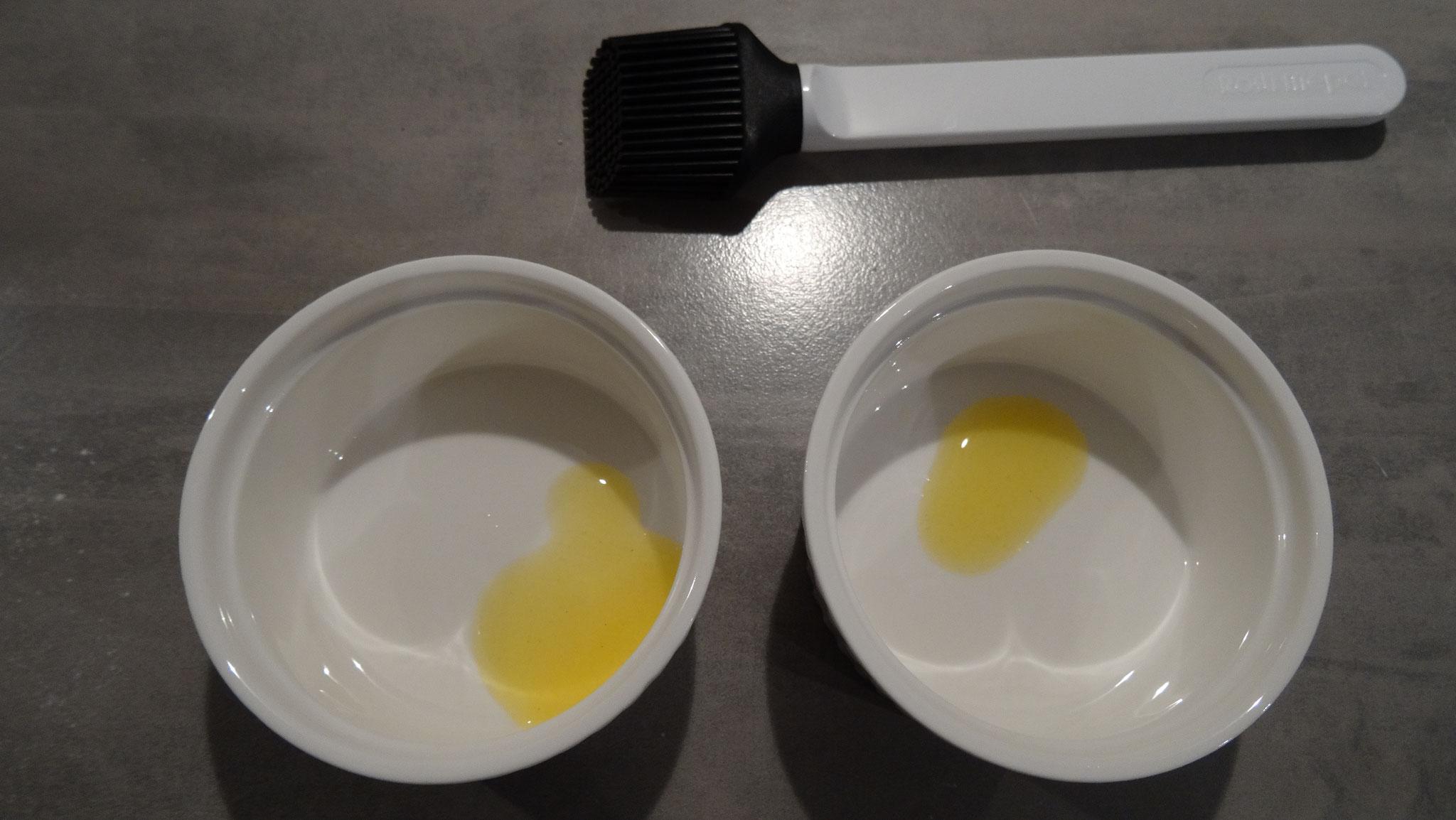 Beetje boter in de schaaltjes