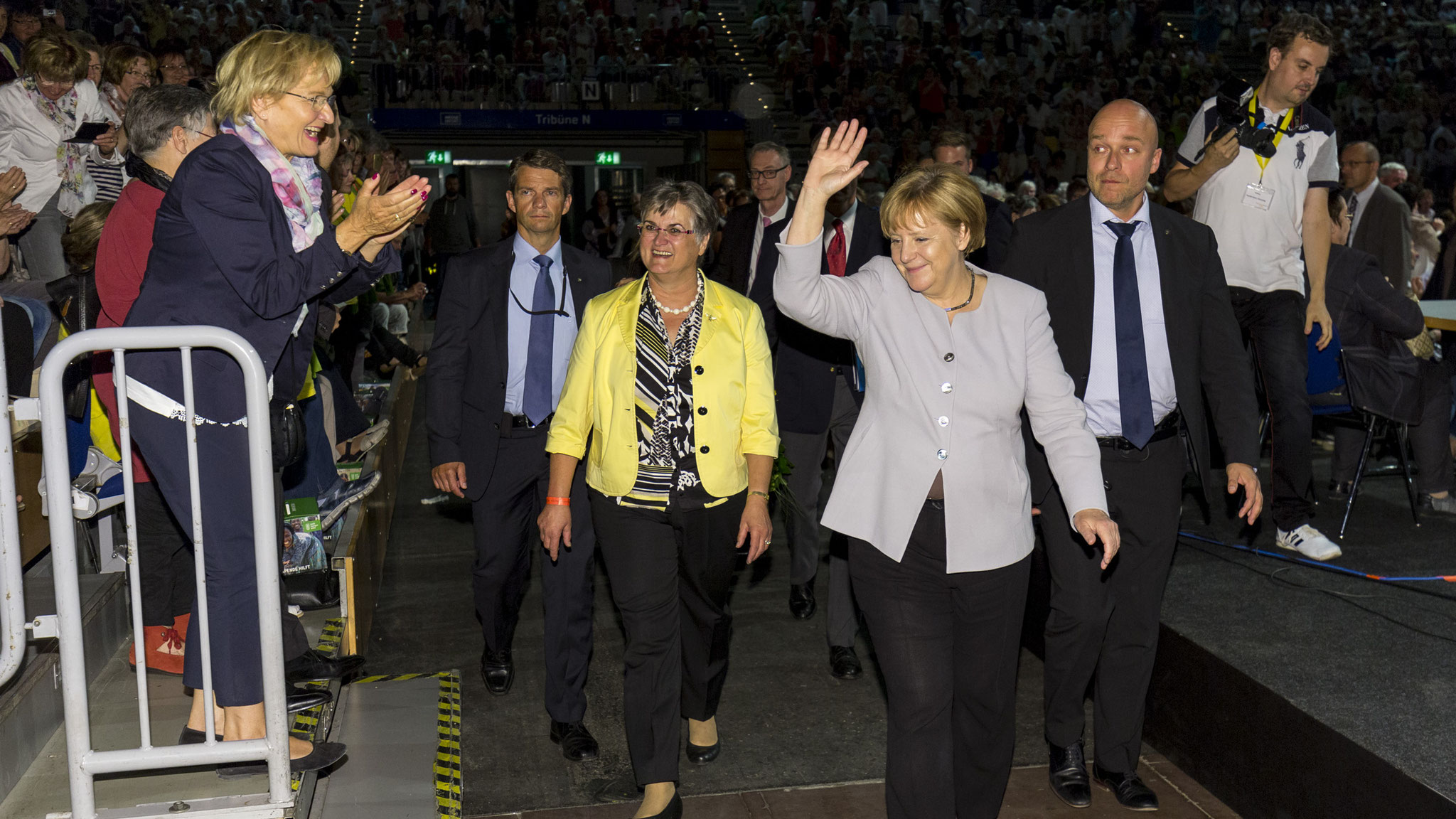 Präsidentin und Kanzlerin