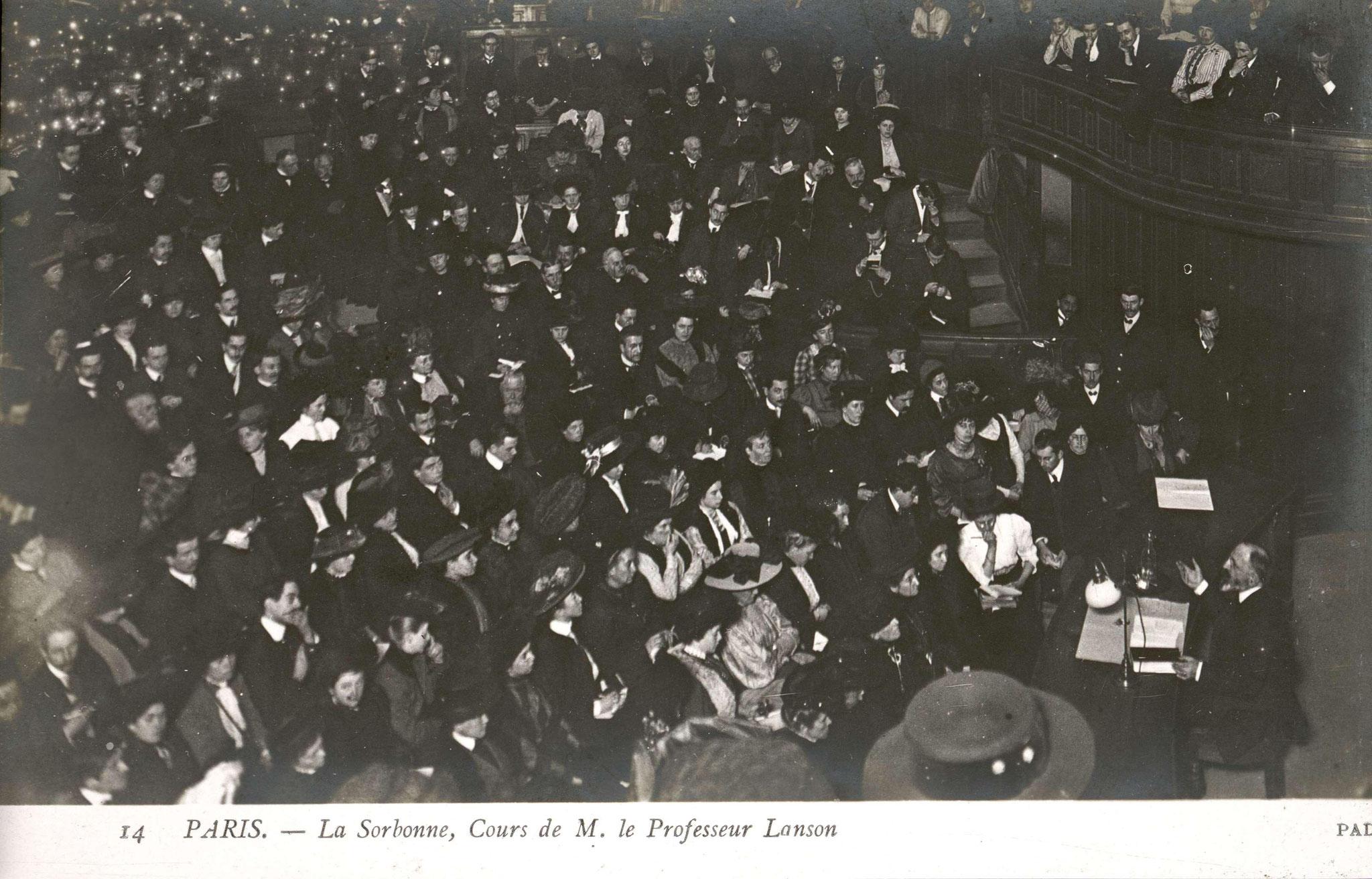 Cours de Gustave Lanson