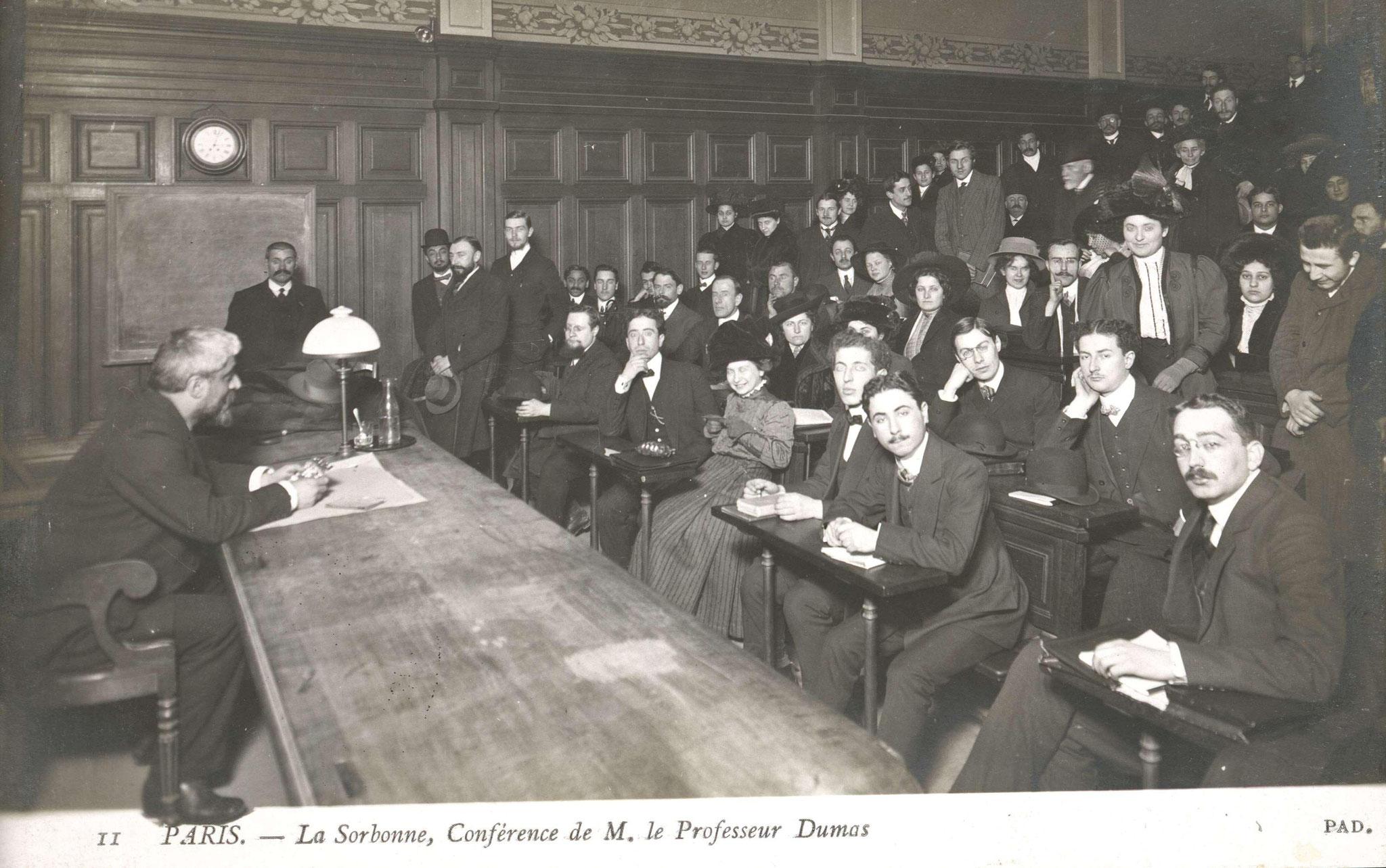 Cours de Georges Dumas