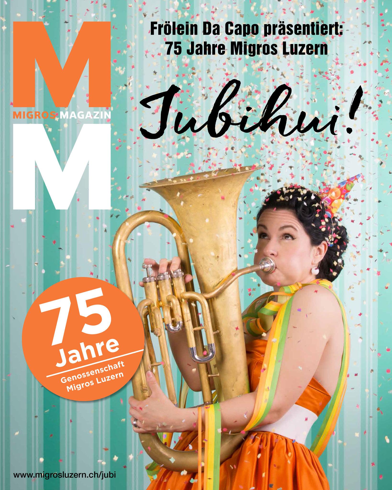 Titelseite Migros Magazin KW 28