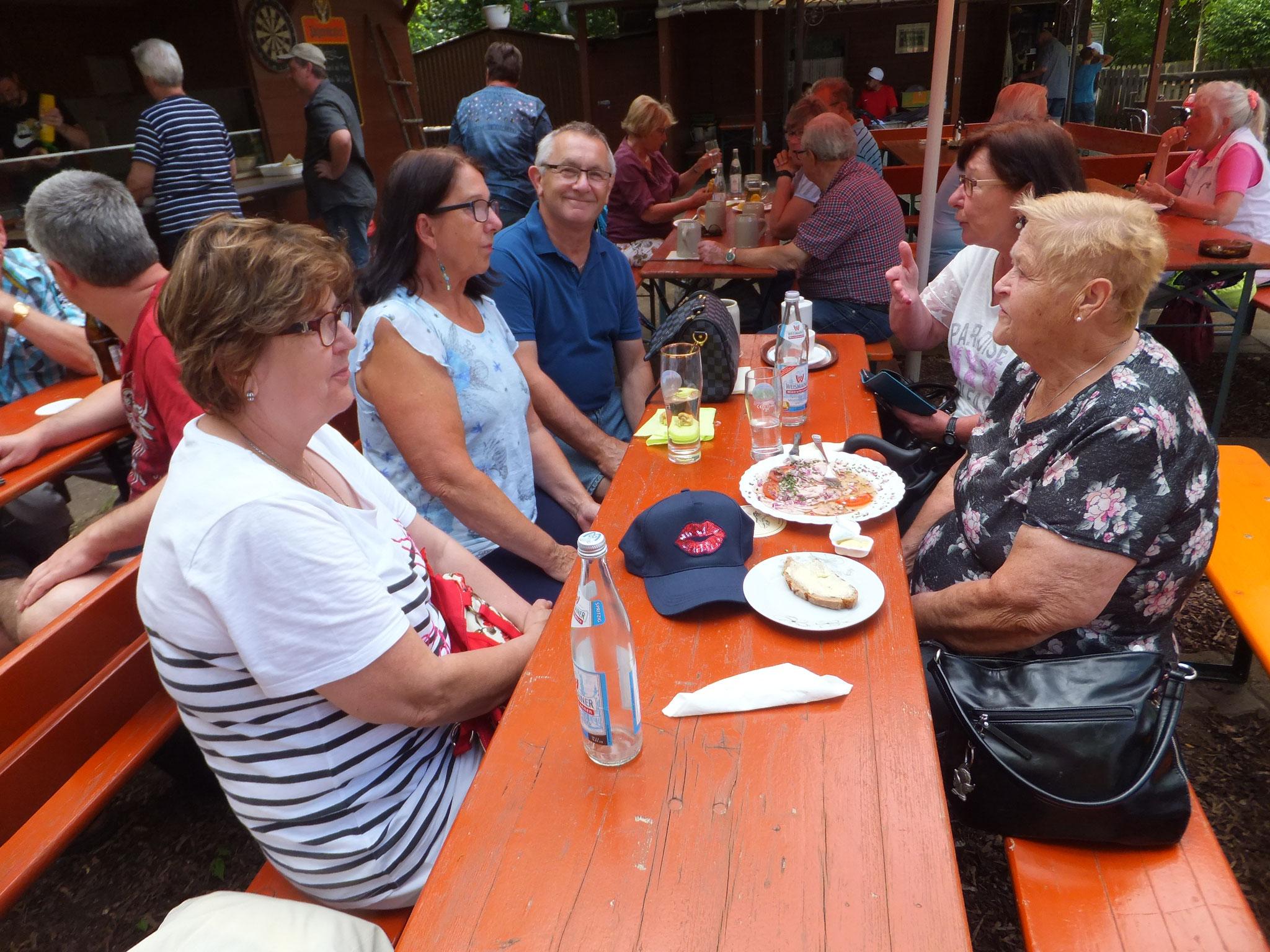 Altwasserwanderung zum Minigolf 2019