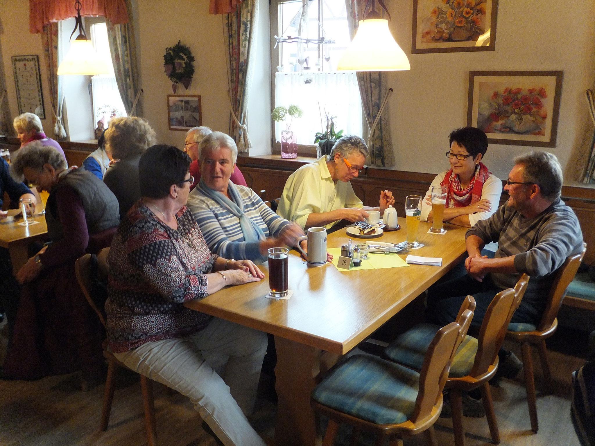 Herbstwanderung nach Gosberg 2016