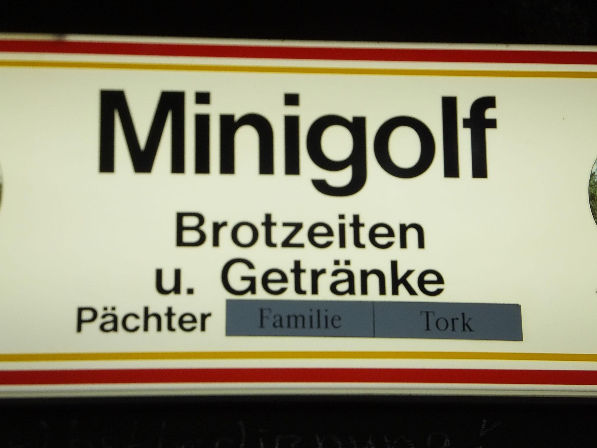 """Altwasserwanderung zum """"Minigolf"""""""