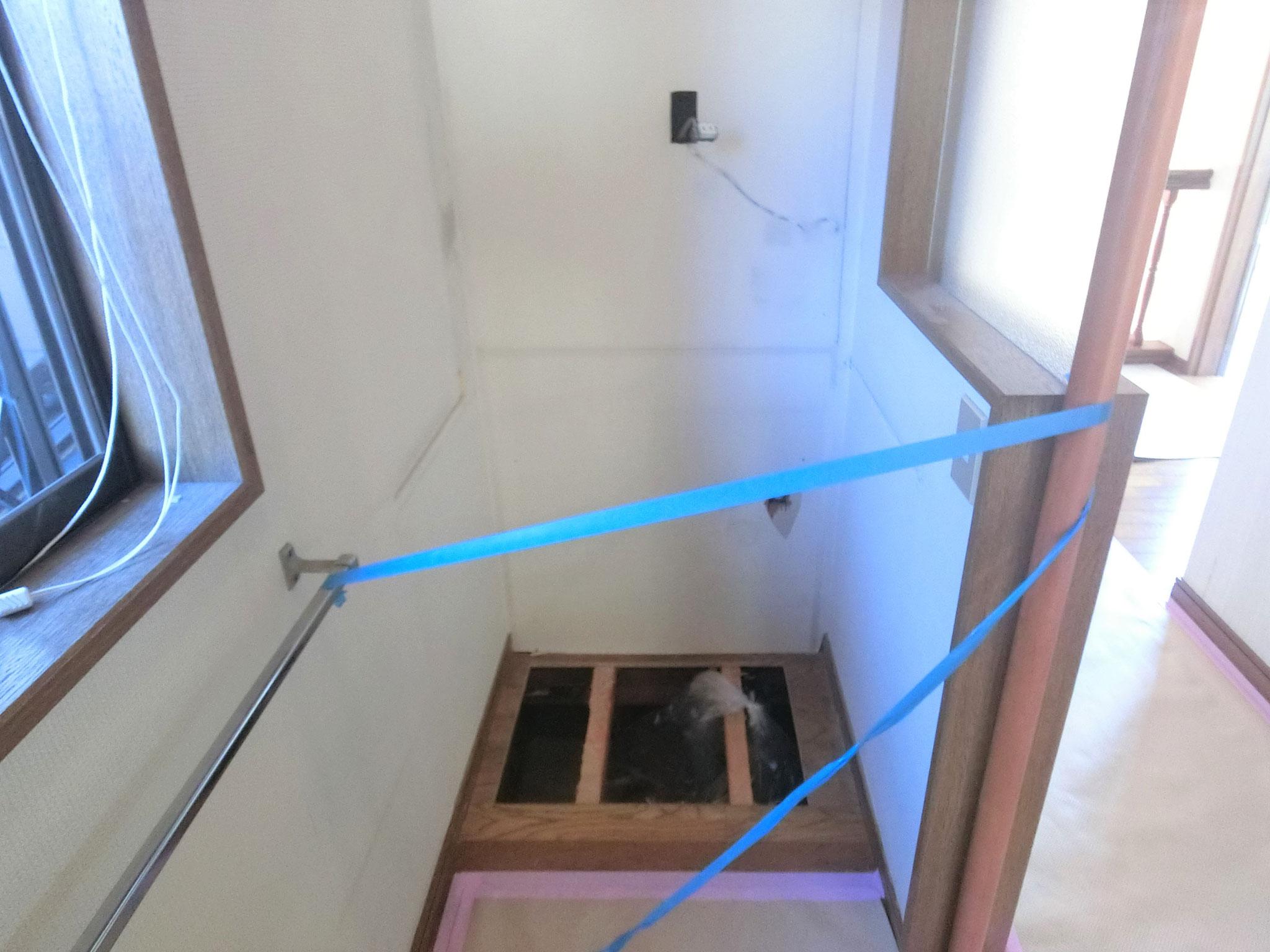 ❷ 2階洗面台Befor