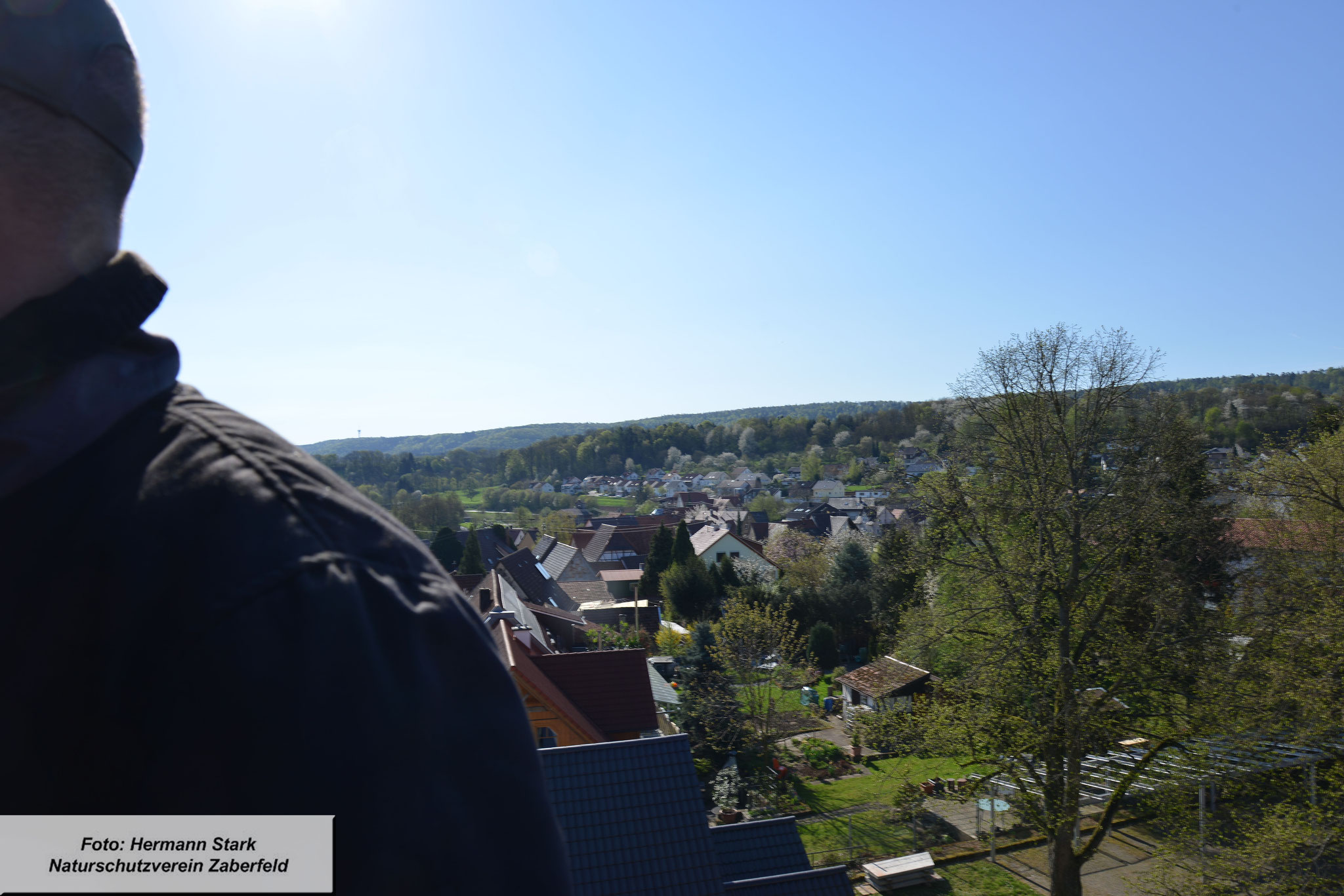 Rundherum tolle Aussicht von oben