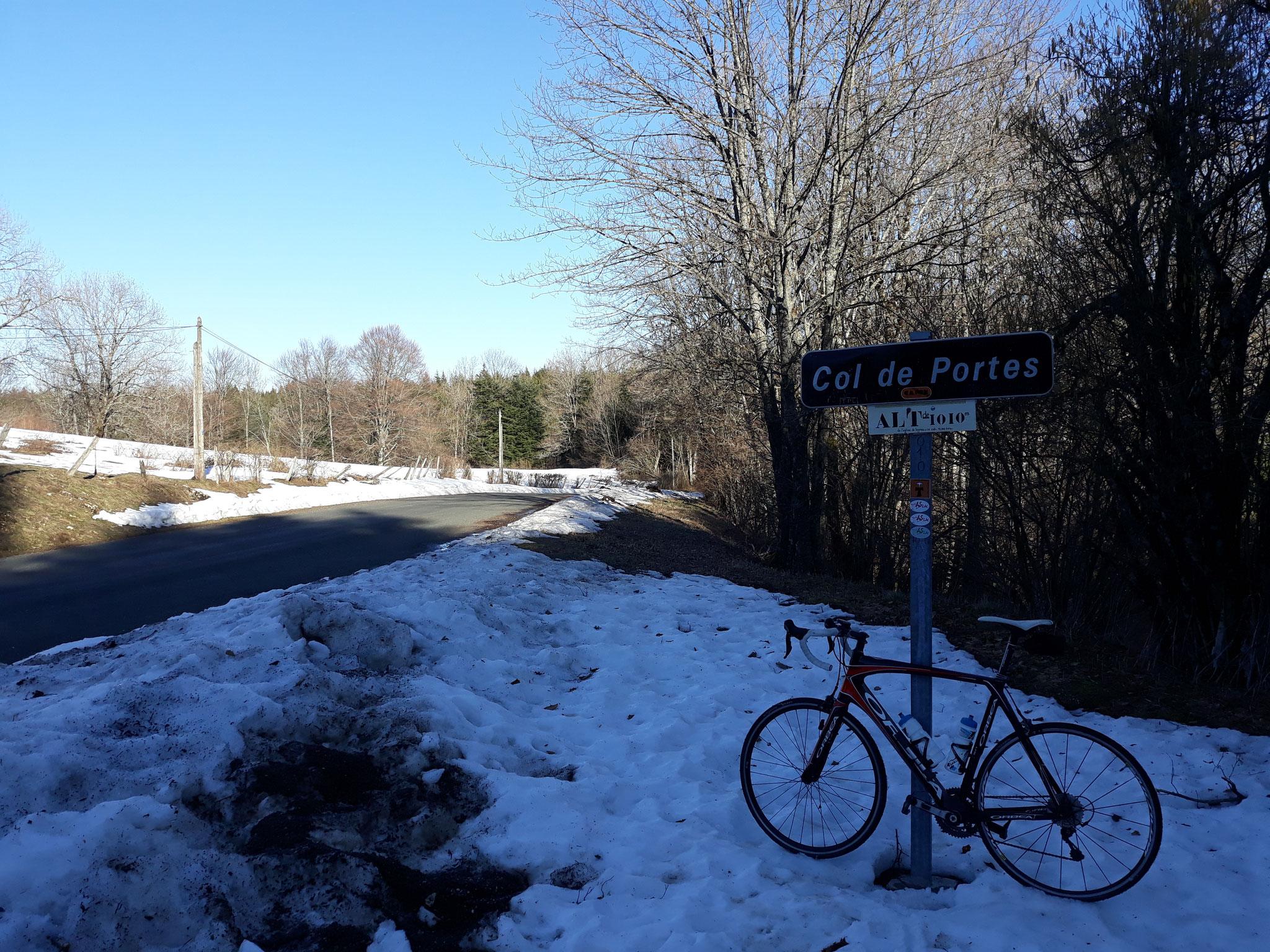 Fin février, la route est ouverte.